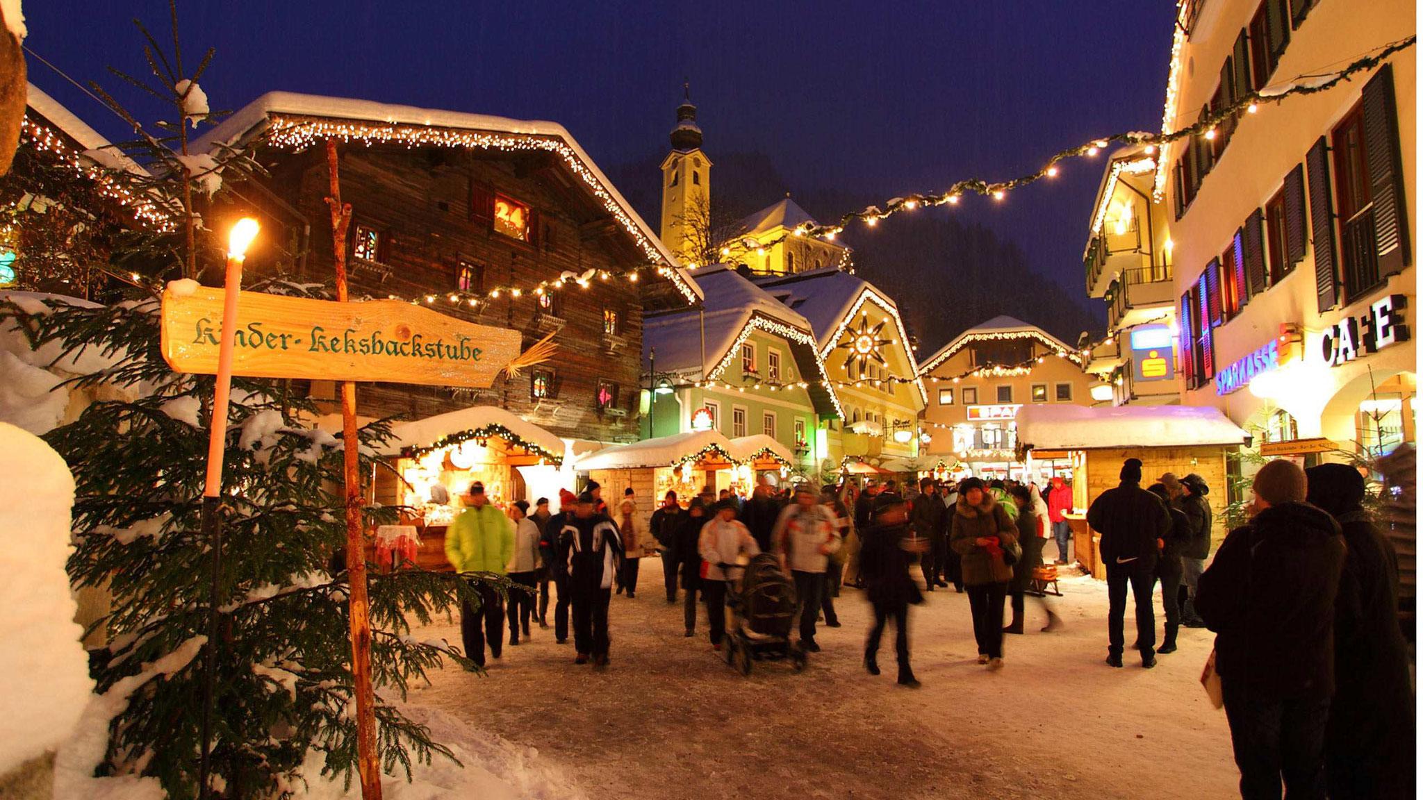 Adventmarkt Großarl beim Salzburger Bergadvent im Großarltal