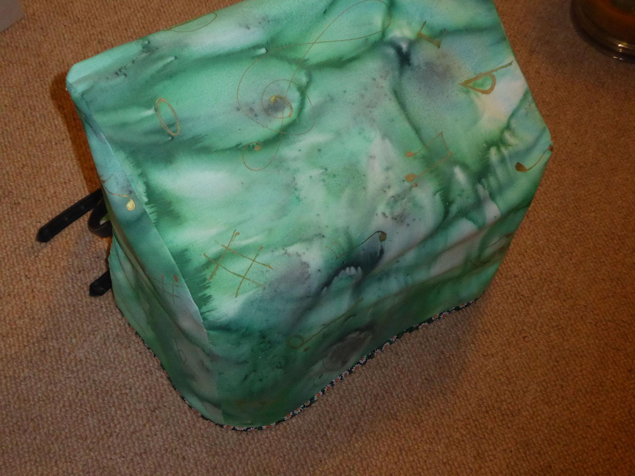 Custom made accordion cover