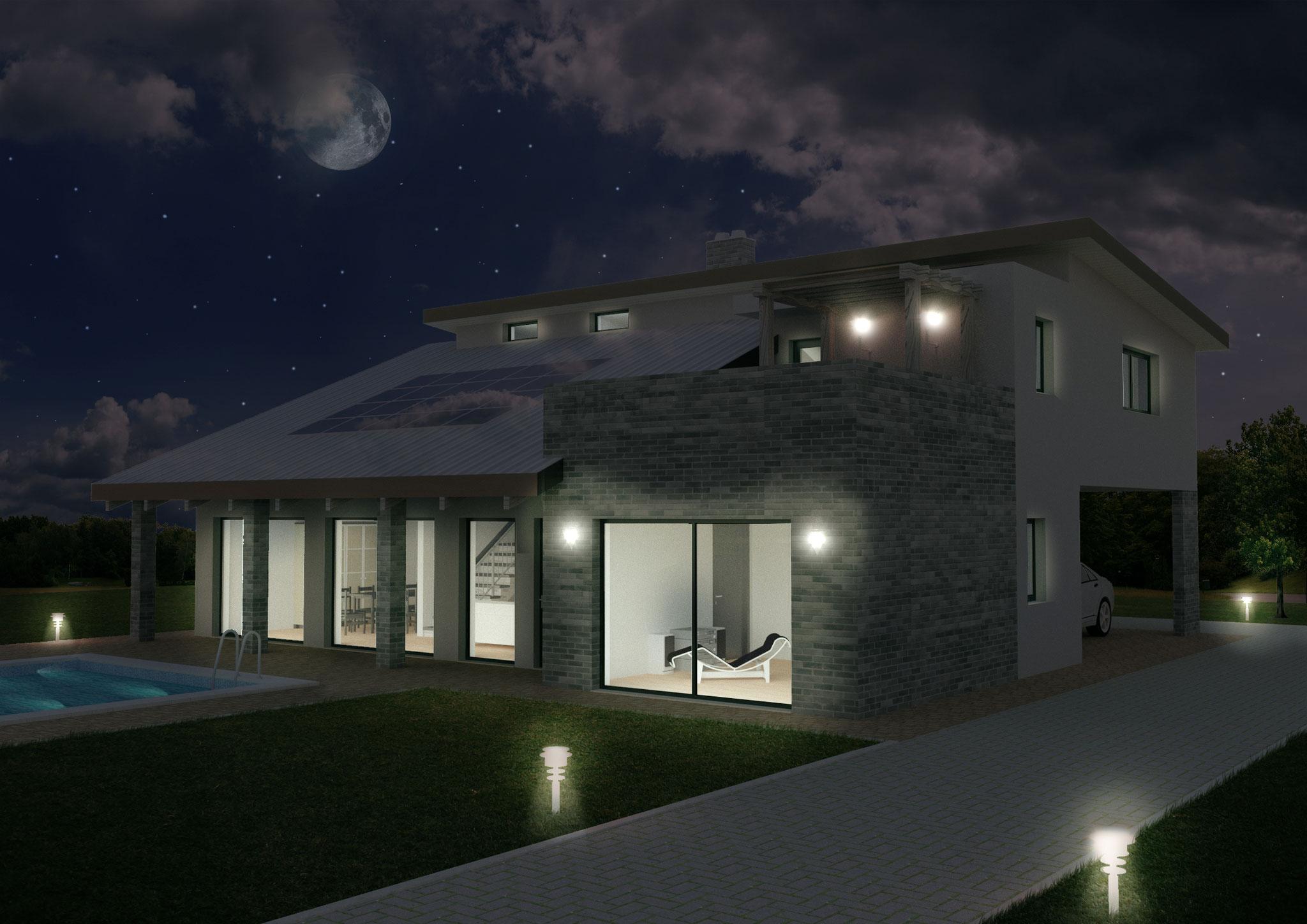 Villa Prestige notte