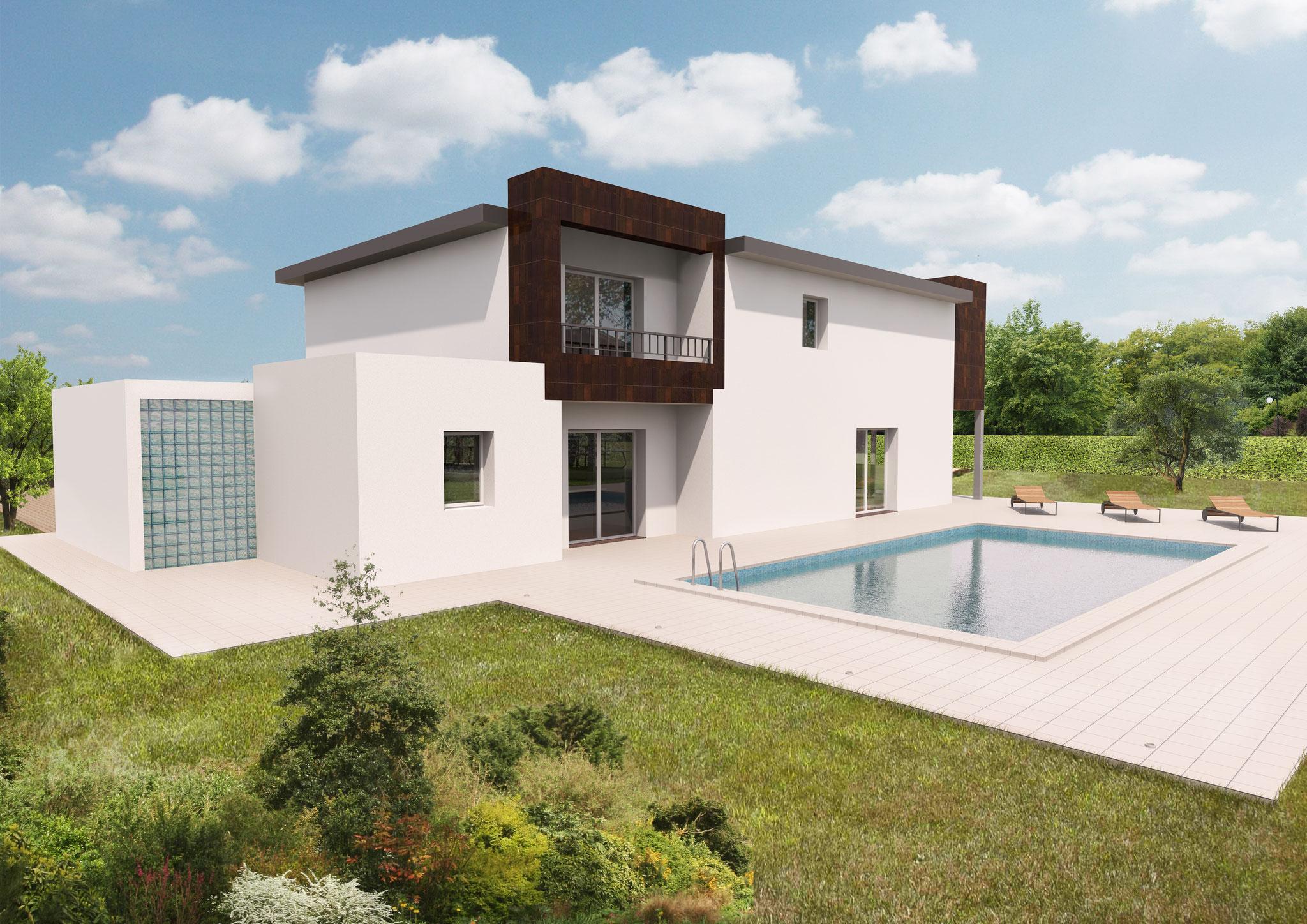 Villa Elegance fronte B