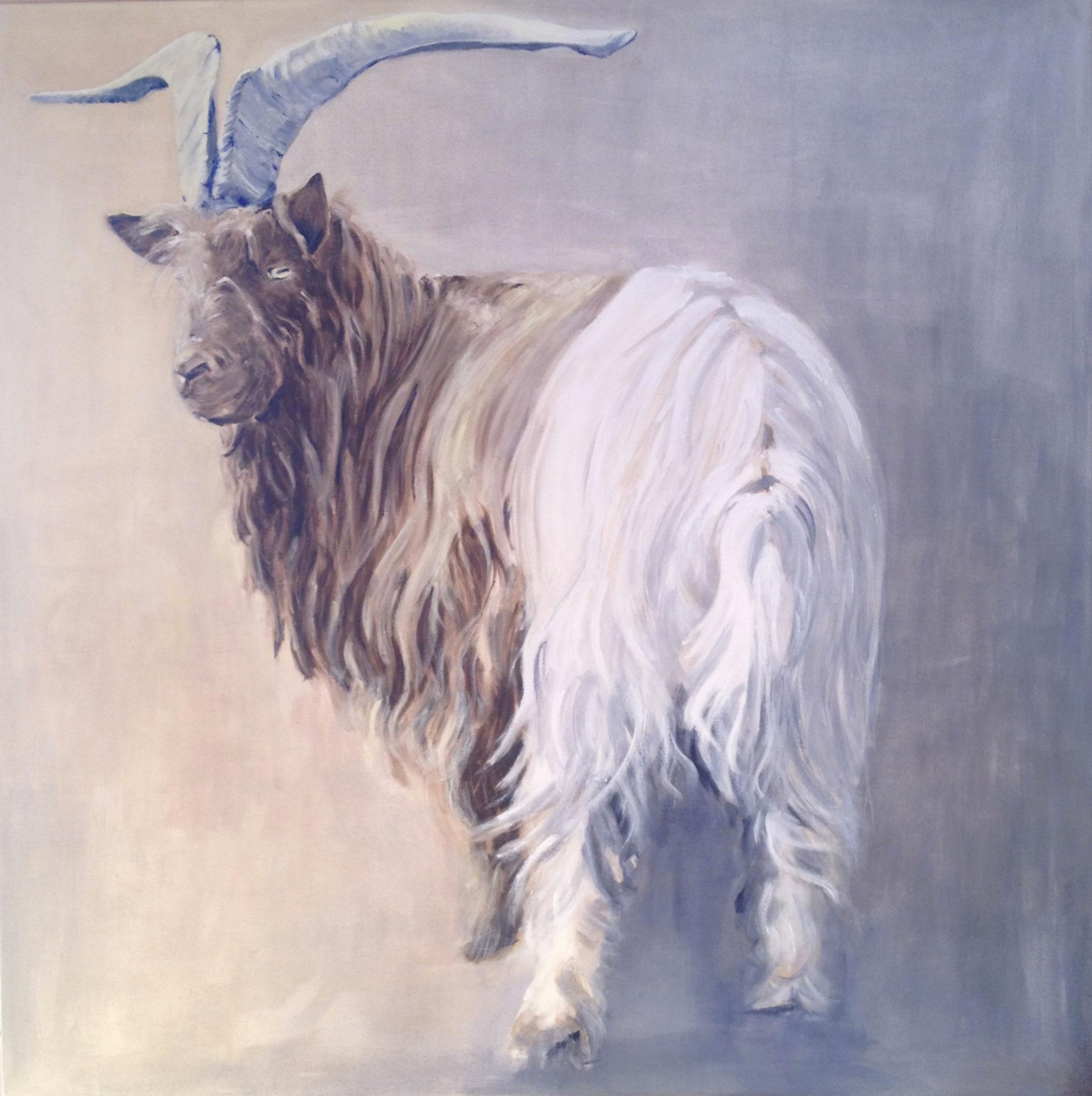 Santos, 140cm x 140cm, Acryl auf Leinwand, 2014, verkauft