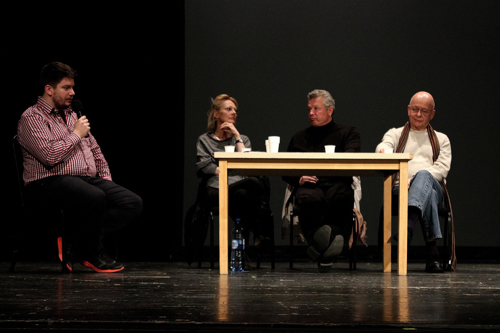 2ème Festival pour Lycéens, Poznań - conférence avec les auteurs 10/10 Emmanuelle Delle Piane, Paul Emond et Stanislas Cotton