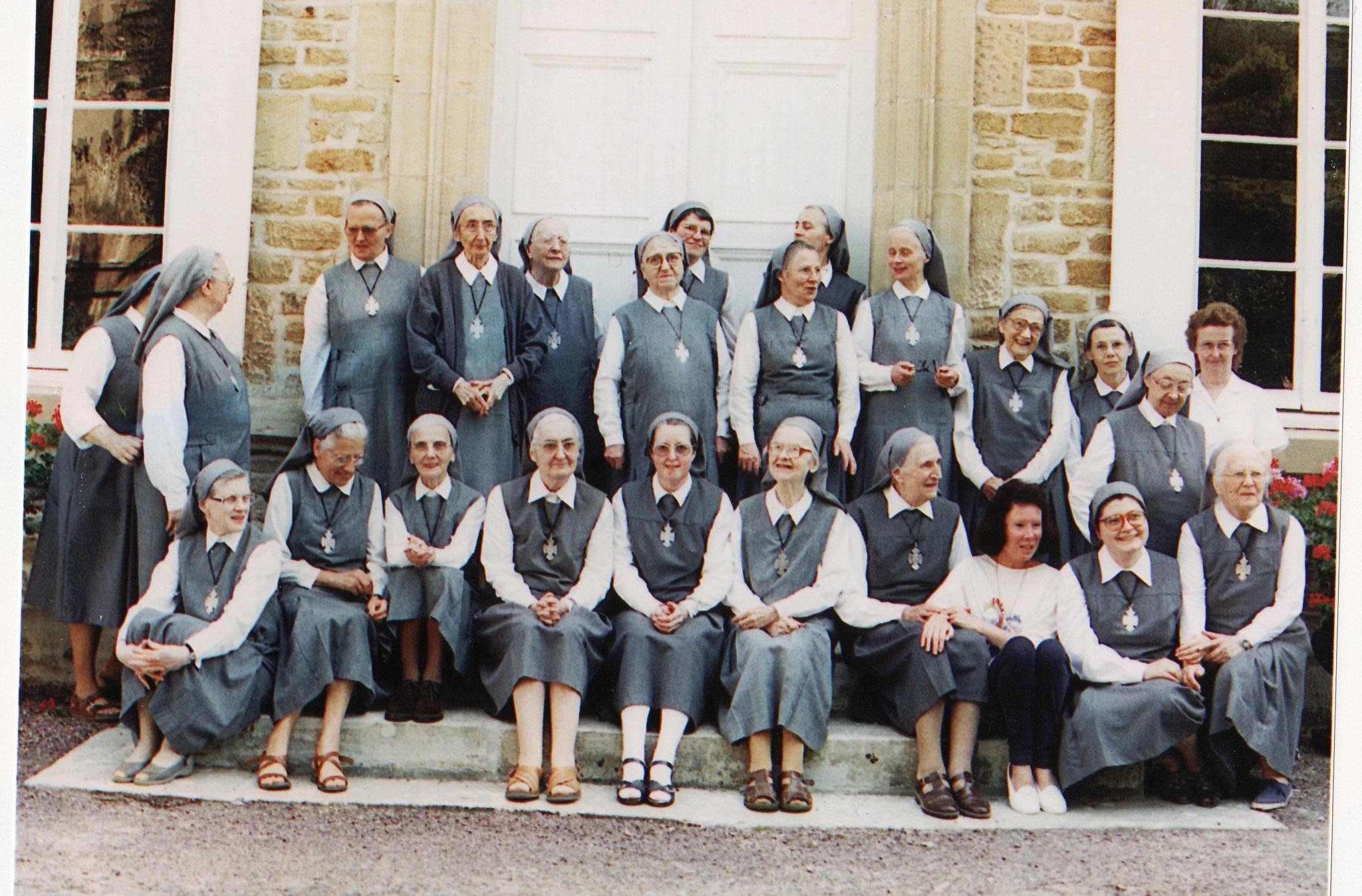 1996 : la Communauté en été à La Délivrande