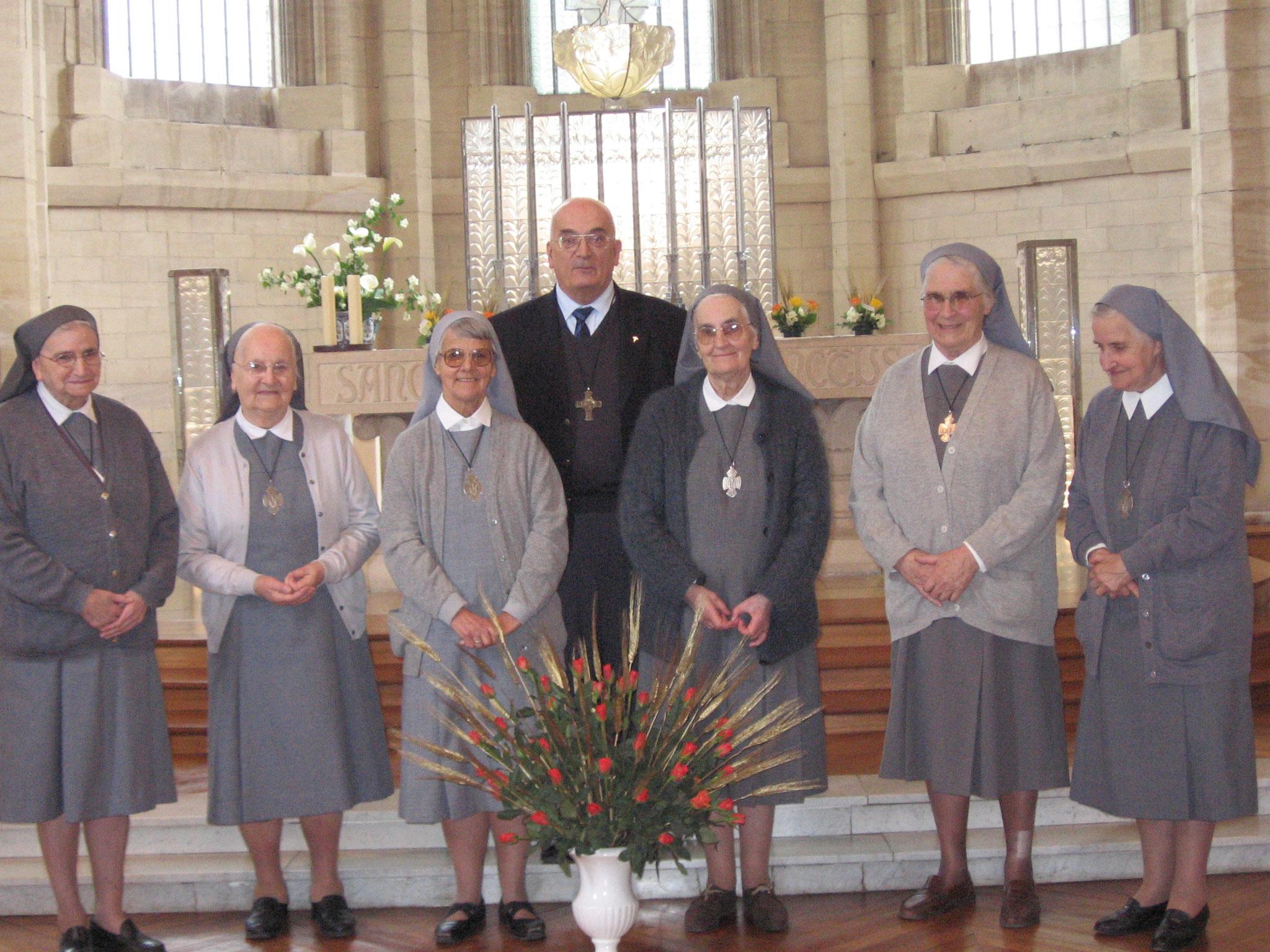 2006 : fêtons les jubilaires ! en présence de Mgr Pican, évêque du diocèse de Bayeux et Lisieux