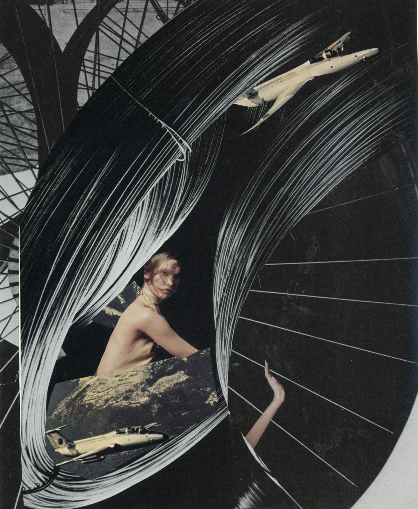 Collage by Vivian Felsen