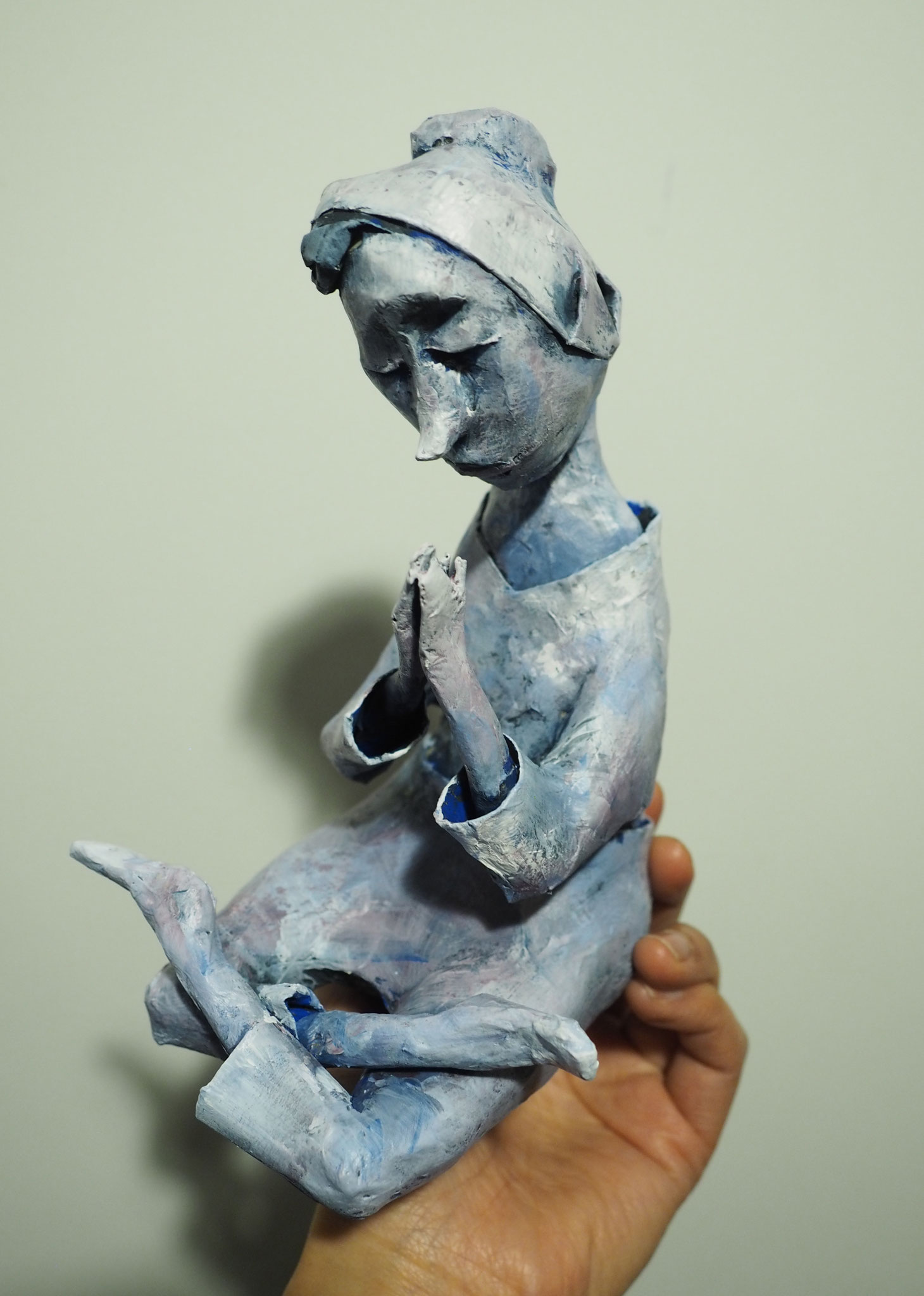 Photo and Paper Mache Sculpture by Sae Kimura