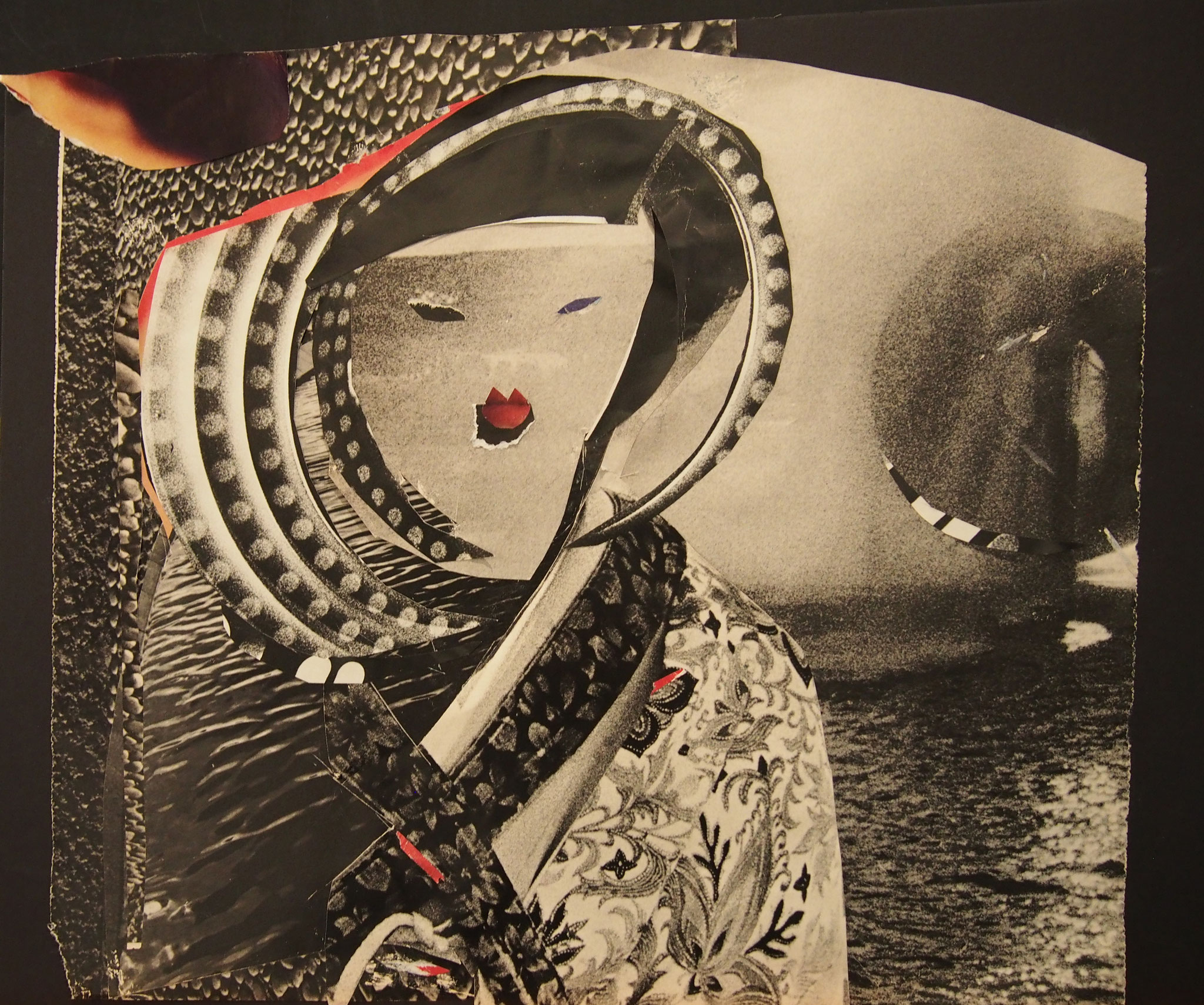 Collage by Zan Hewett