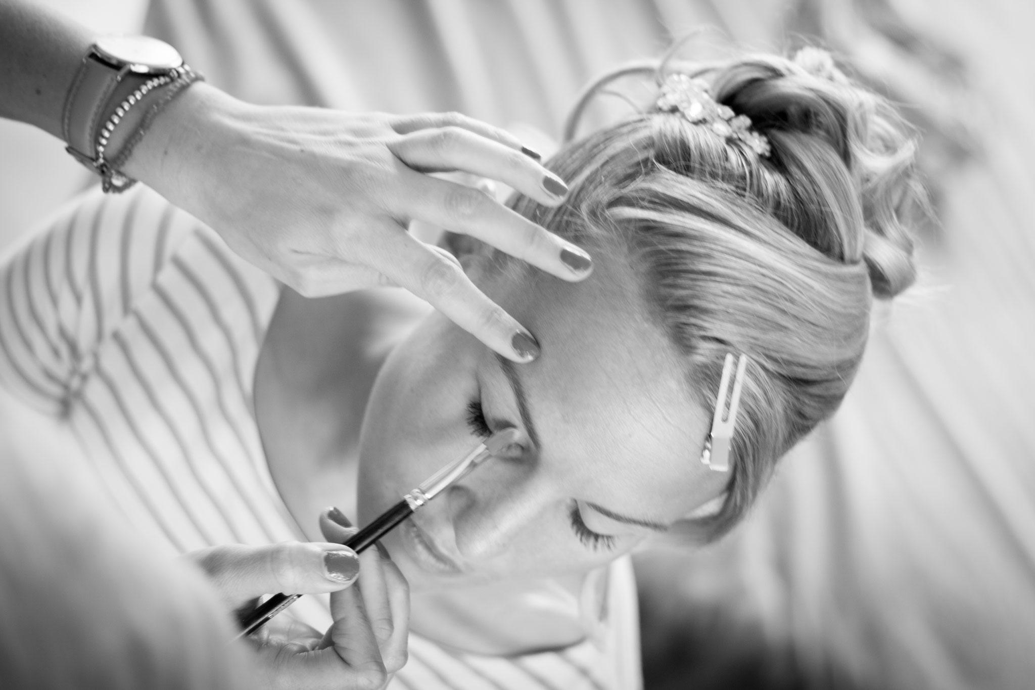 Exaktes Arbeiten by Melanie von Wandelbar Make-Up