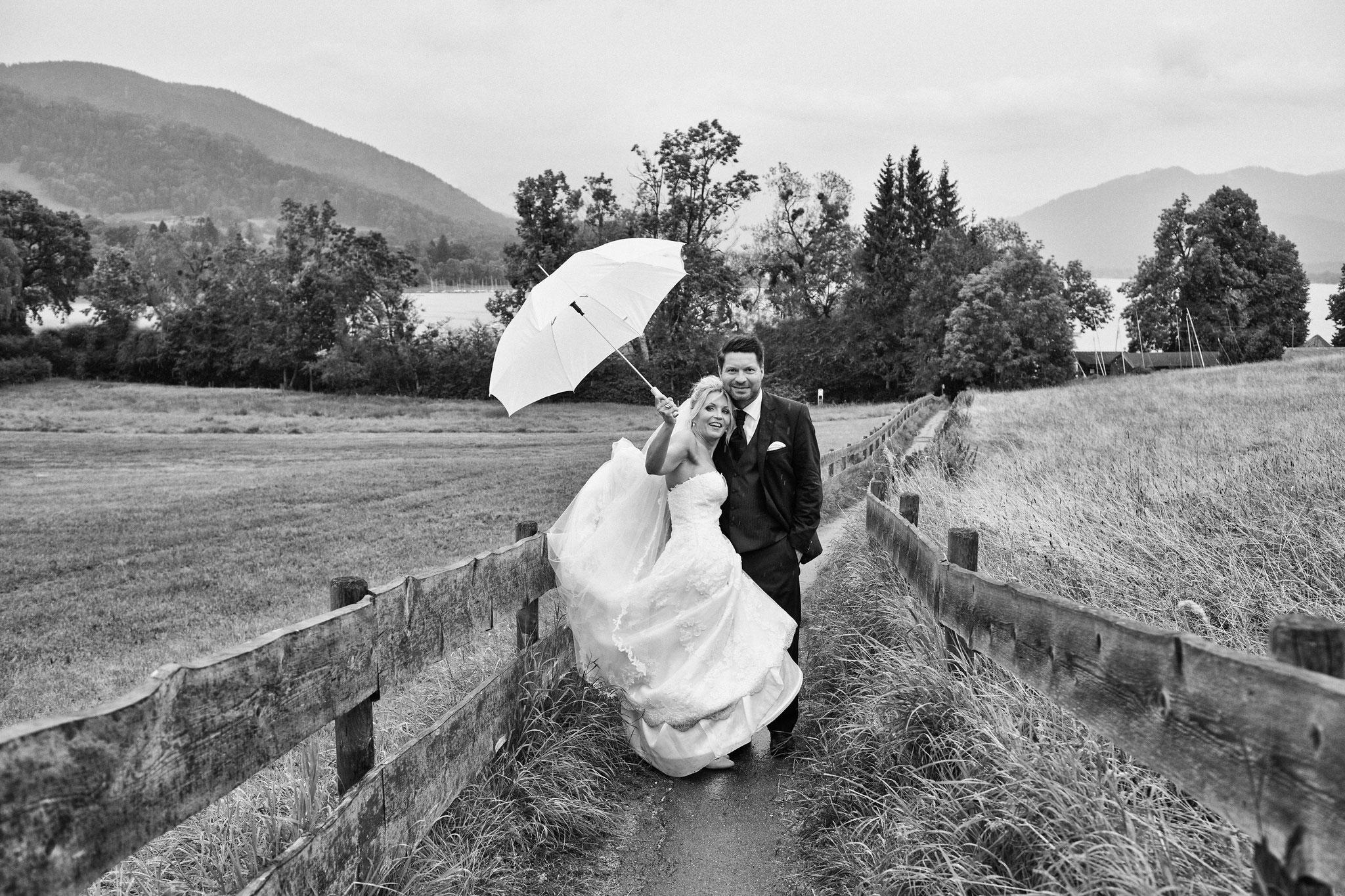 Hochzeitsshooting am Tegernsee