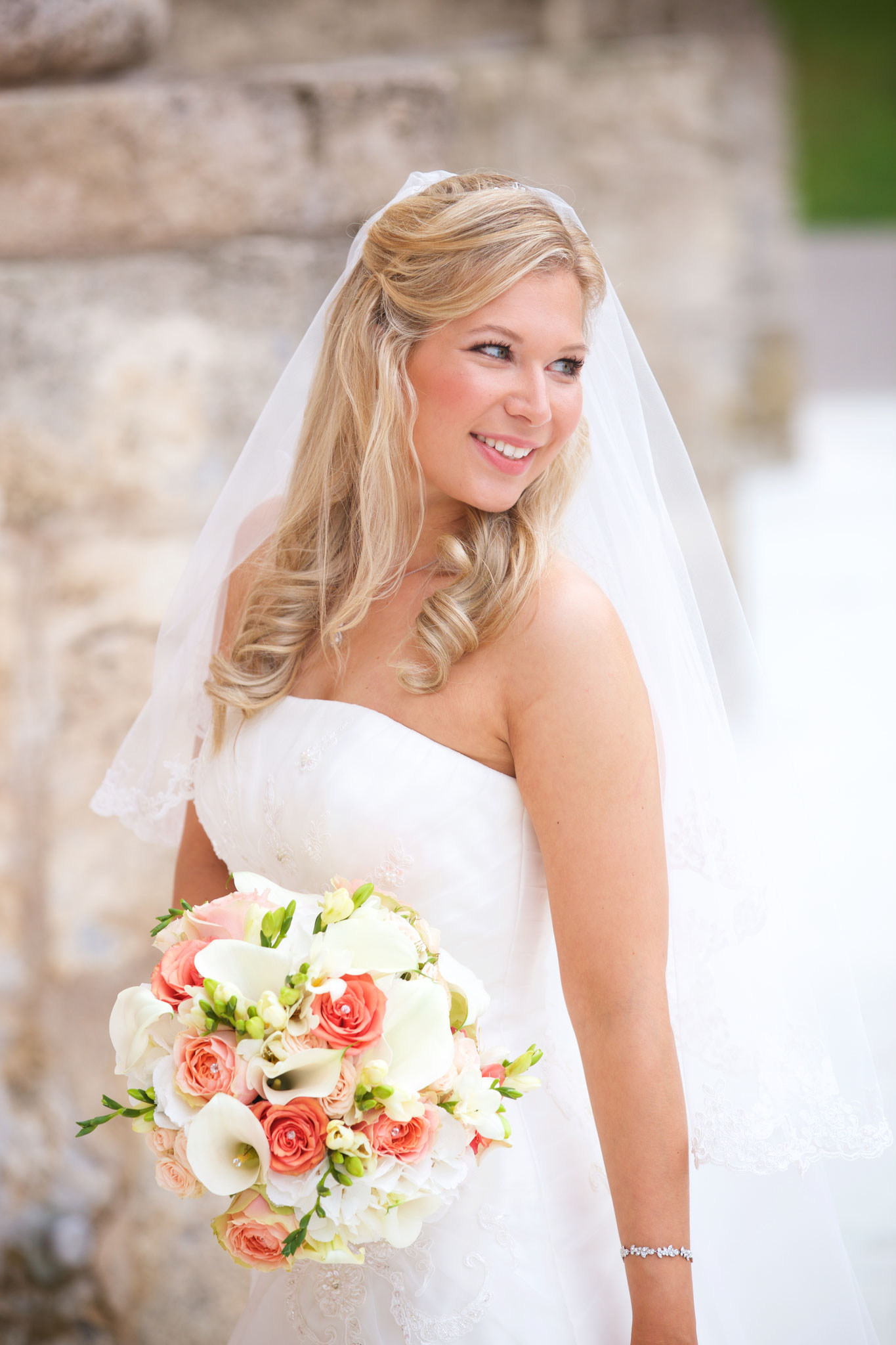 Sommerhochzeit in Bayer - Braut Make-Up by Melanie von Wandelbar Make-Up