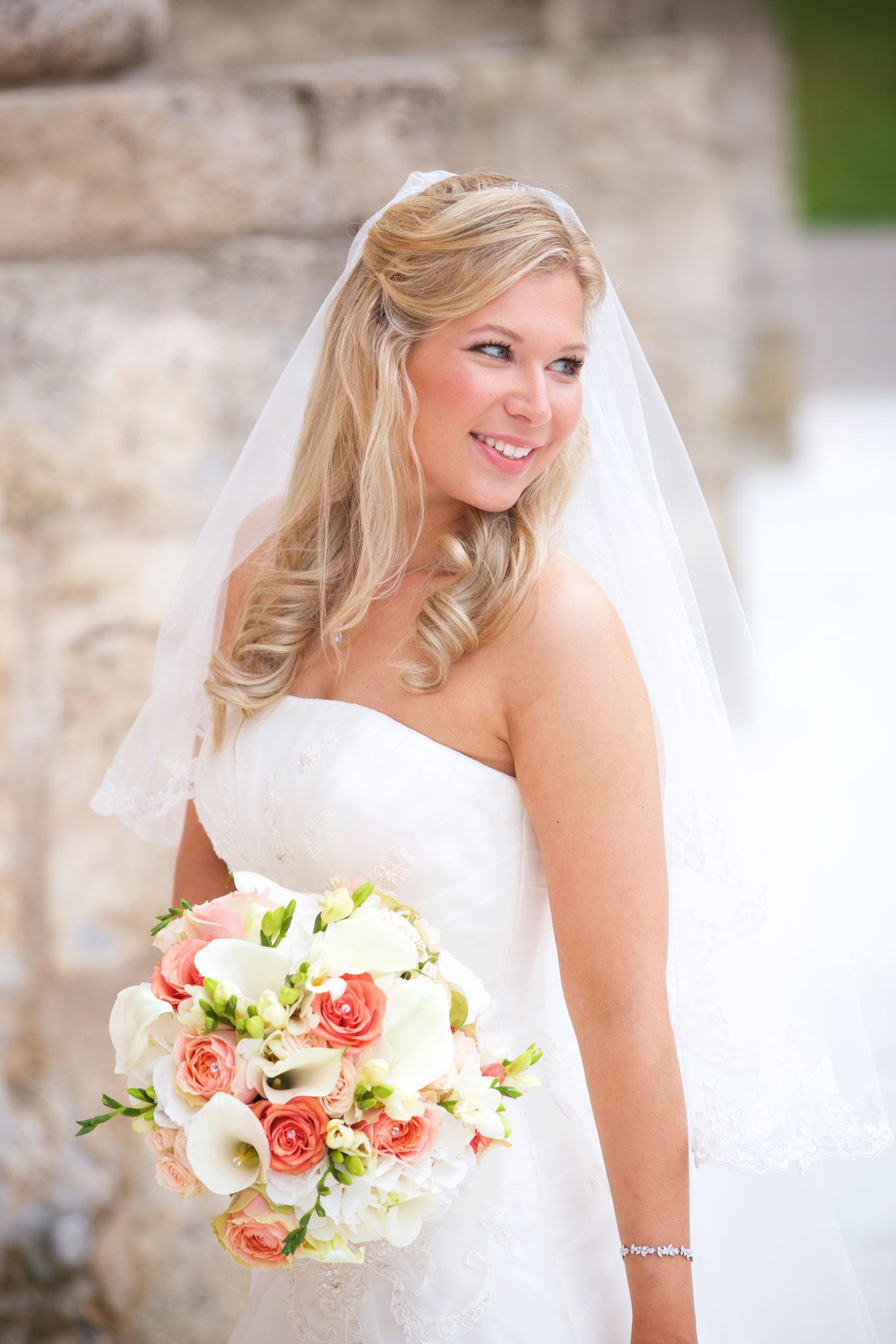 Sommerhochzeit in Bayer - Braut Make-Up by Melanie von Wandelbar Make-Up