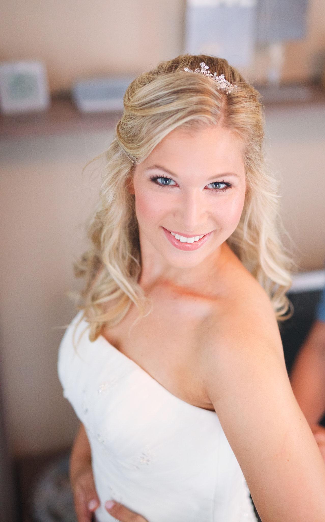 Strahlendes Braut Make-Up von Wandelbar Make-Up