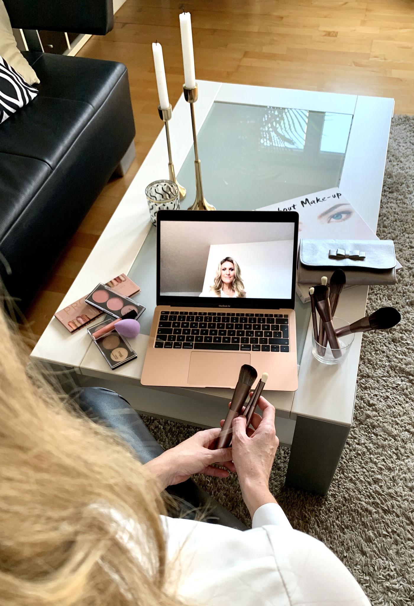 Online Make-Up Coaching - Step by Step zum gewünschten Look