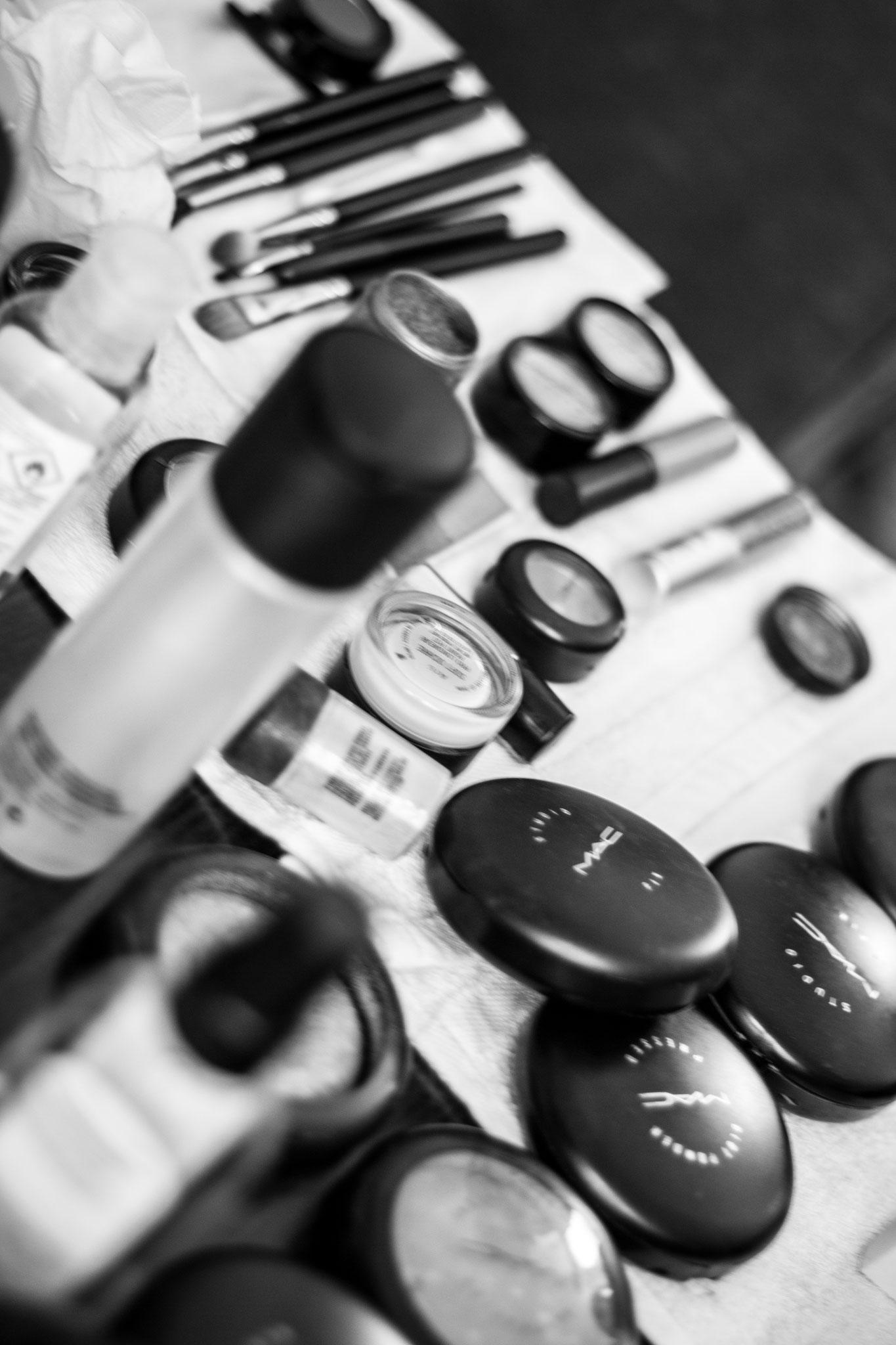 Getting Ready by Wandelbar Make-Up in München
