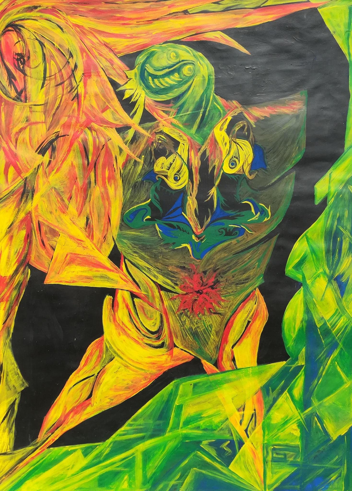 Zwei Seelen tanzen in einer Brust