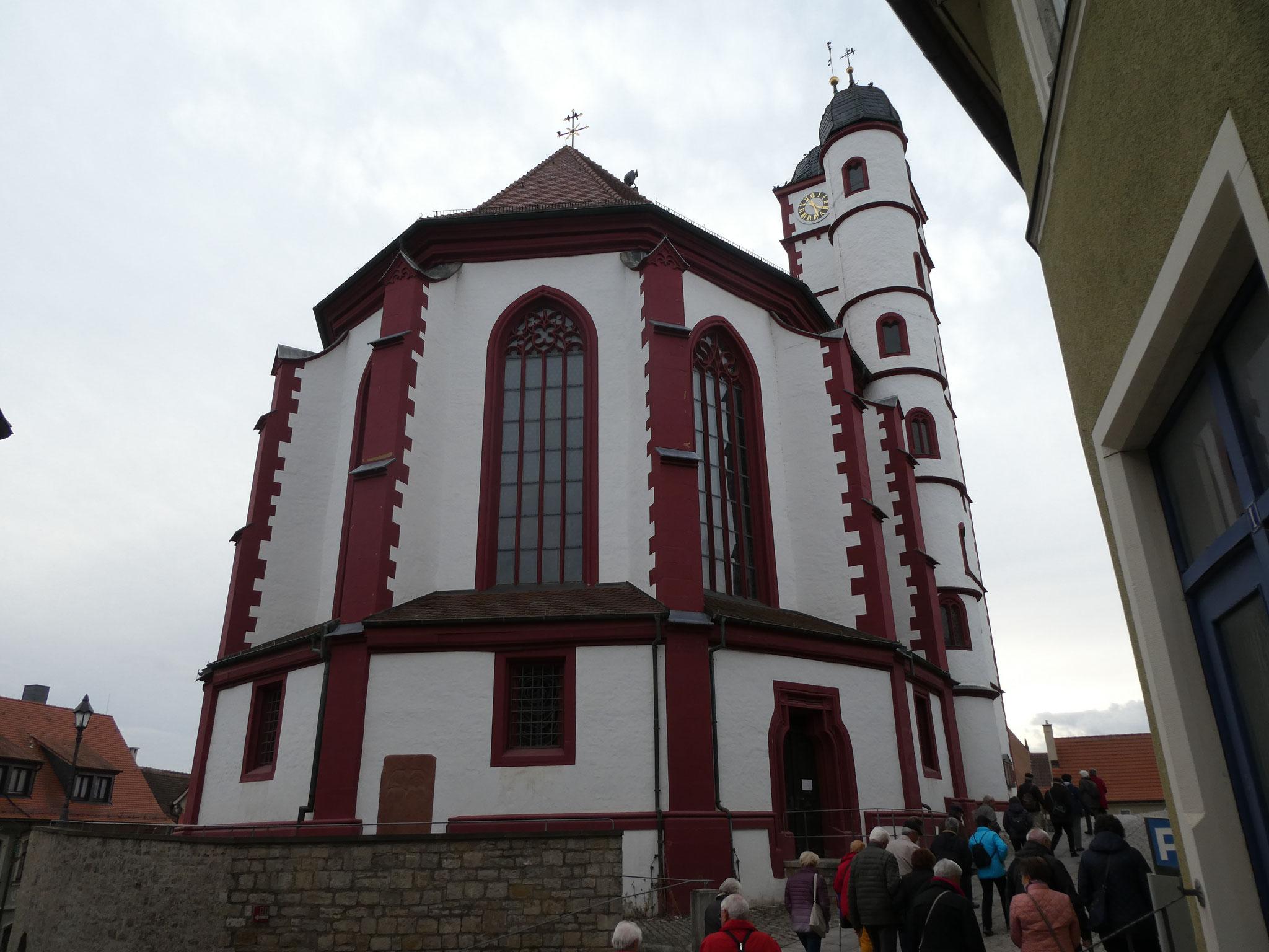 Chor der Stadtpfarrkirche