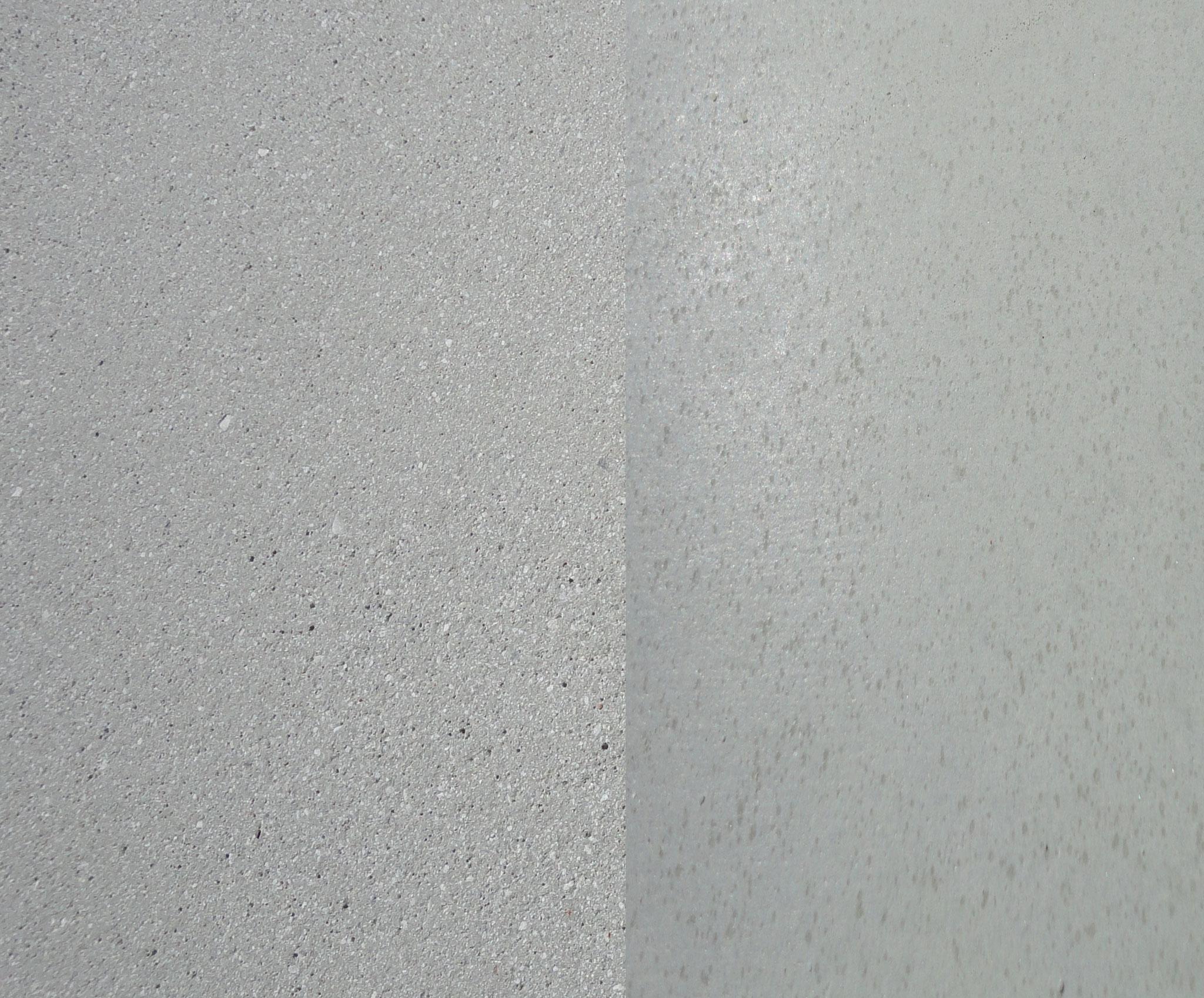 Farbe: silber-grau, Farbnummer: 15, sandgestrahlt/schalrein