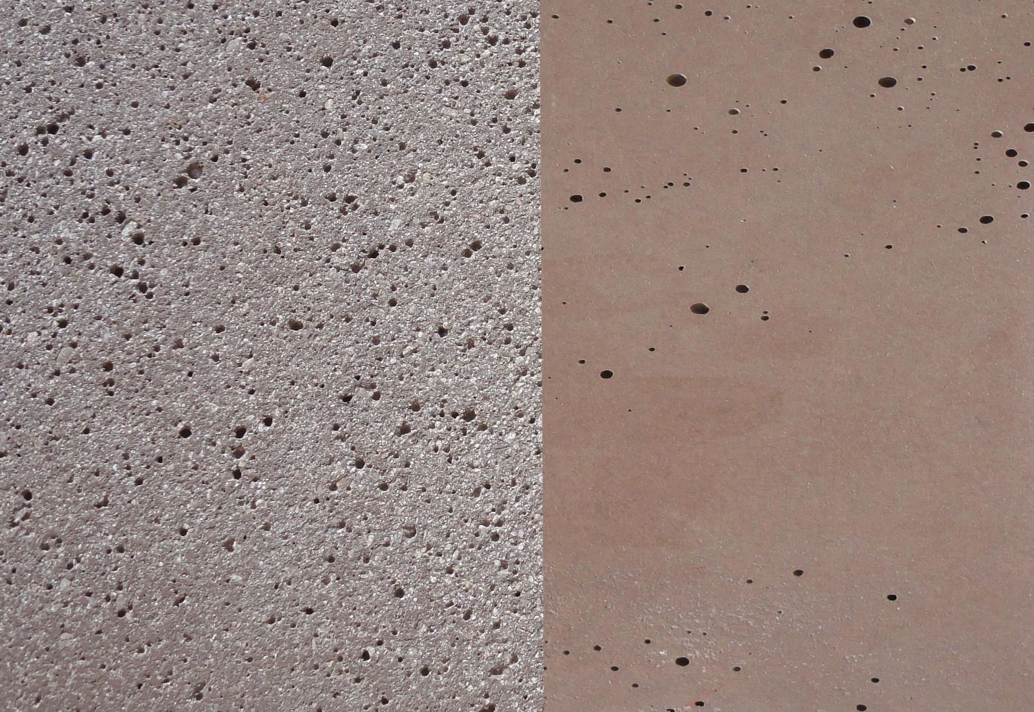Farbe: grau-braun, Farbnummer: 8, sandgestrahlt/schalrein