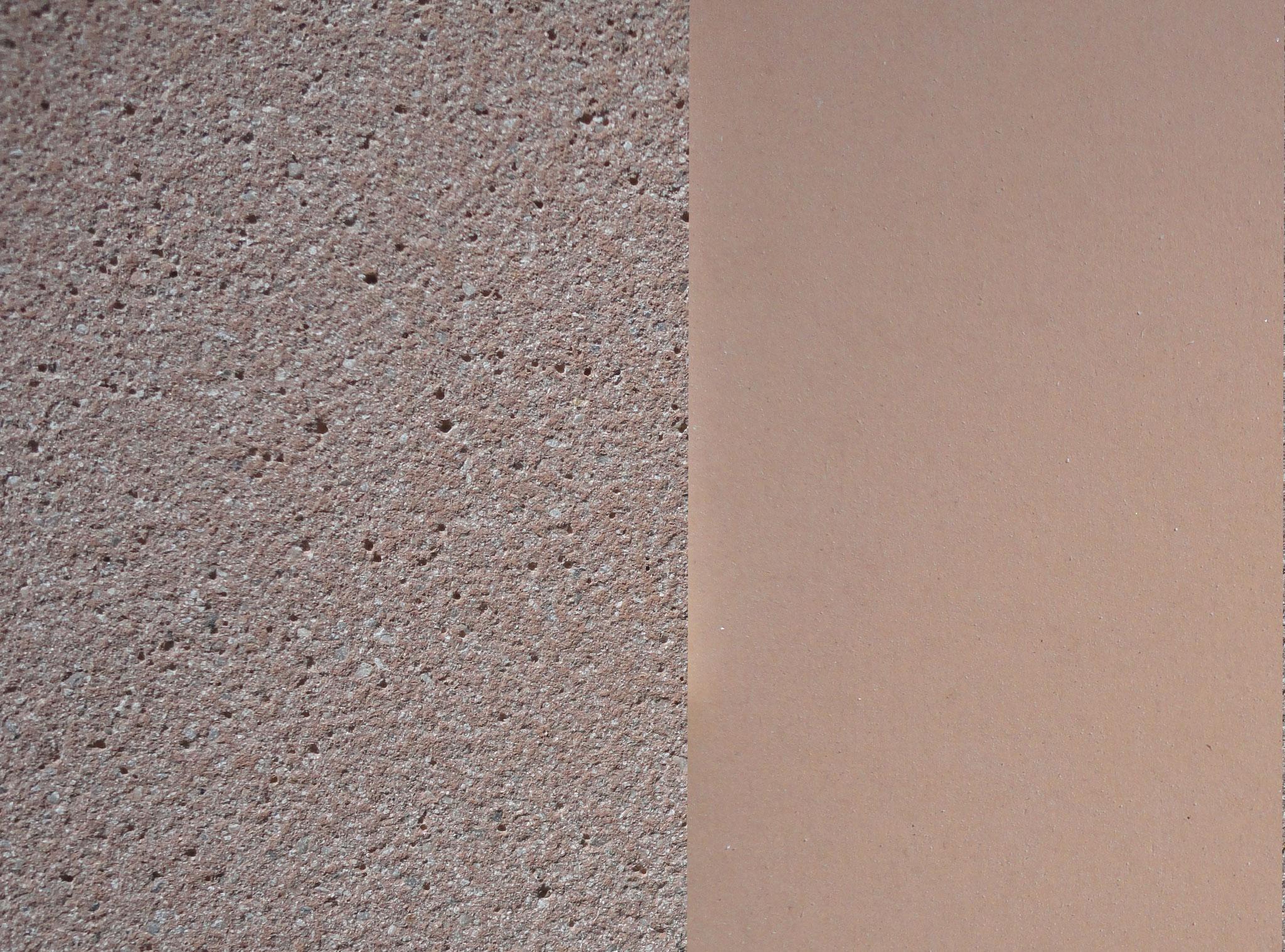 Farbe: taupe, Farbnummer: 2, sandgestrahlt/schalrein