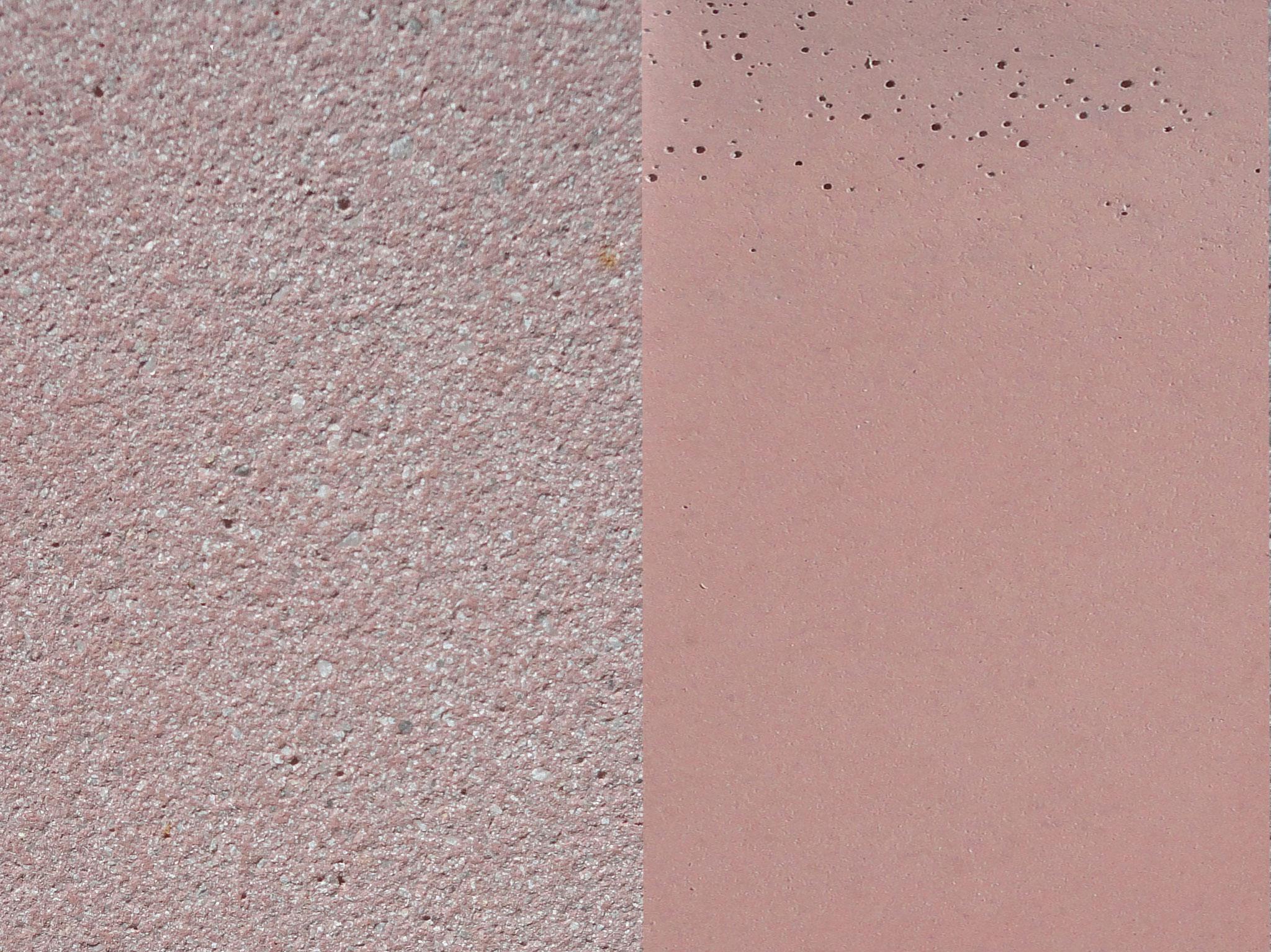 Fabe: Lachs, Farbnummer: 4, sandgestrahlt/schalrein