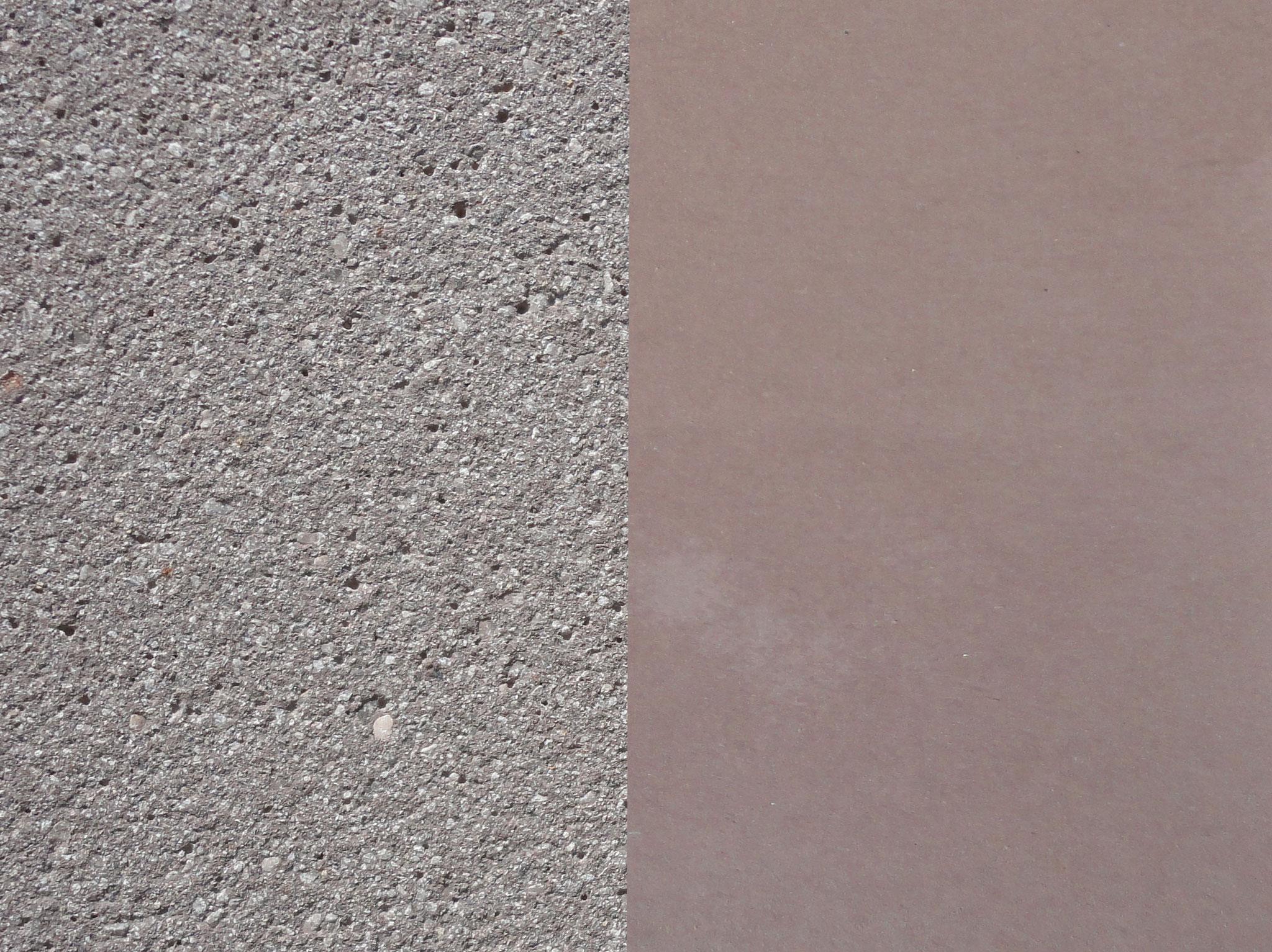 Farbe: Kaffee, Farbnummer: 12, sandgestrahlt/schalrein