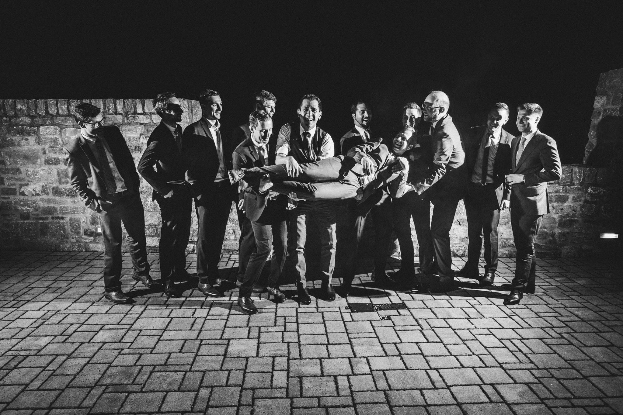 Gruppenbild-Hochzeitsfotograf