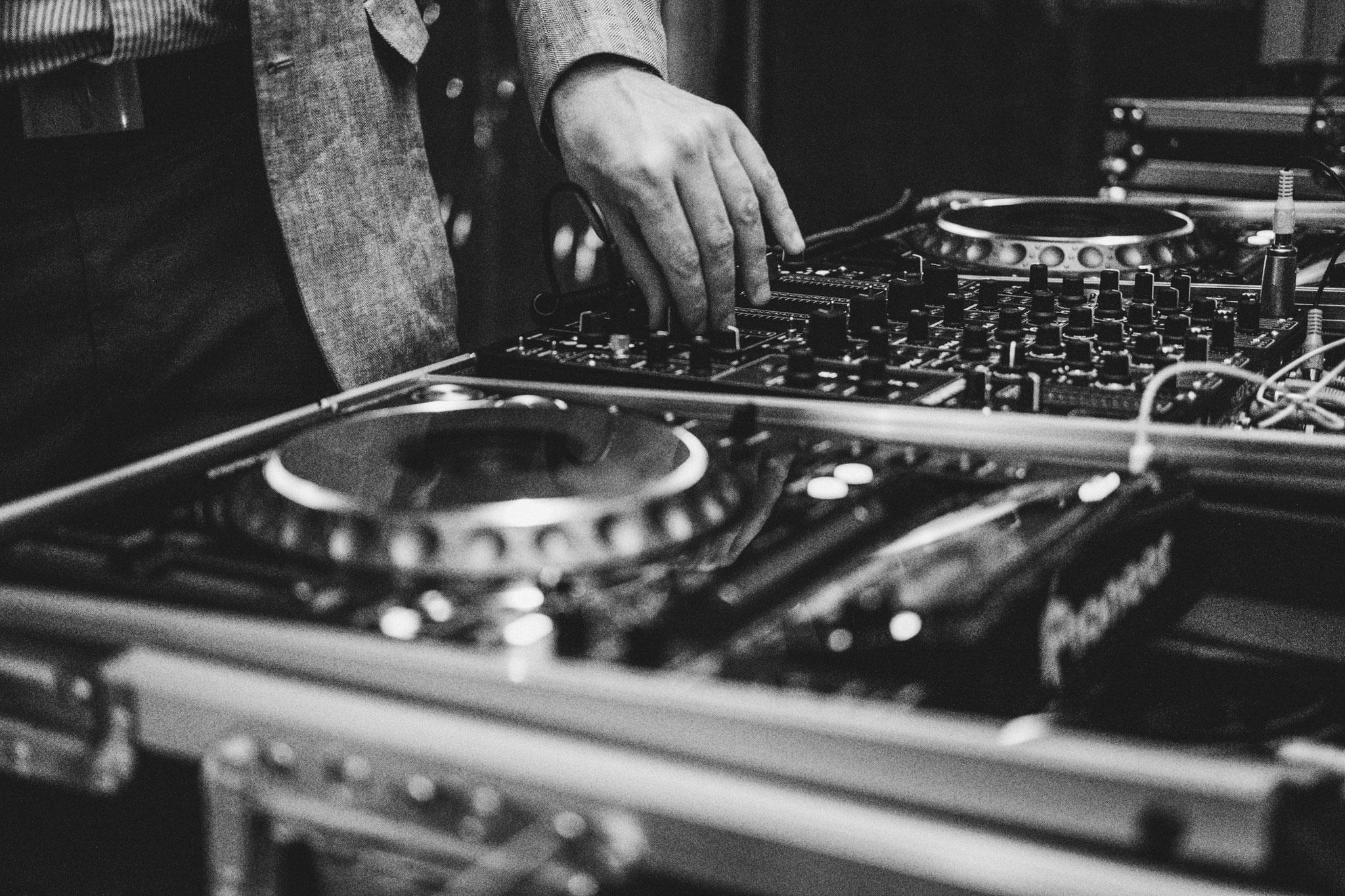 DJ Equipment Hochzeit