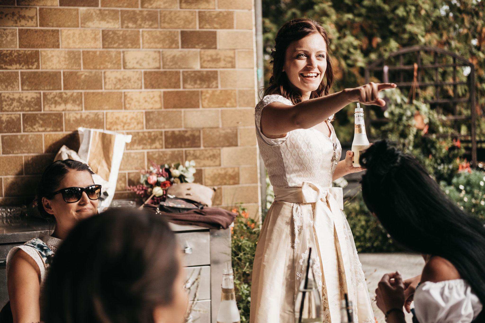 Hochzeitsfoto Tracht