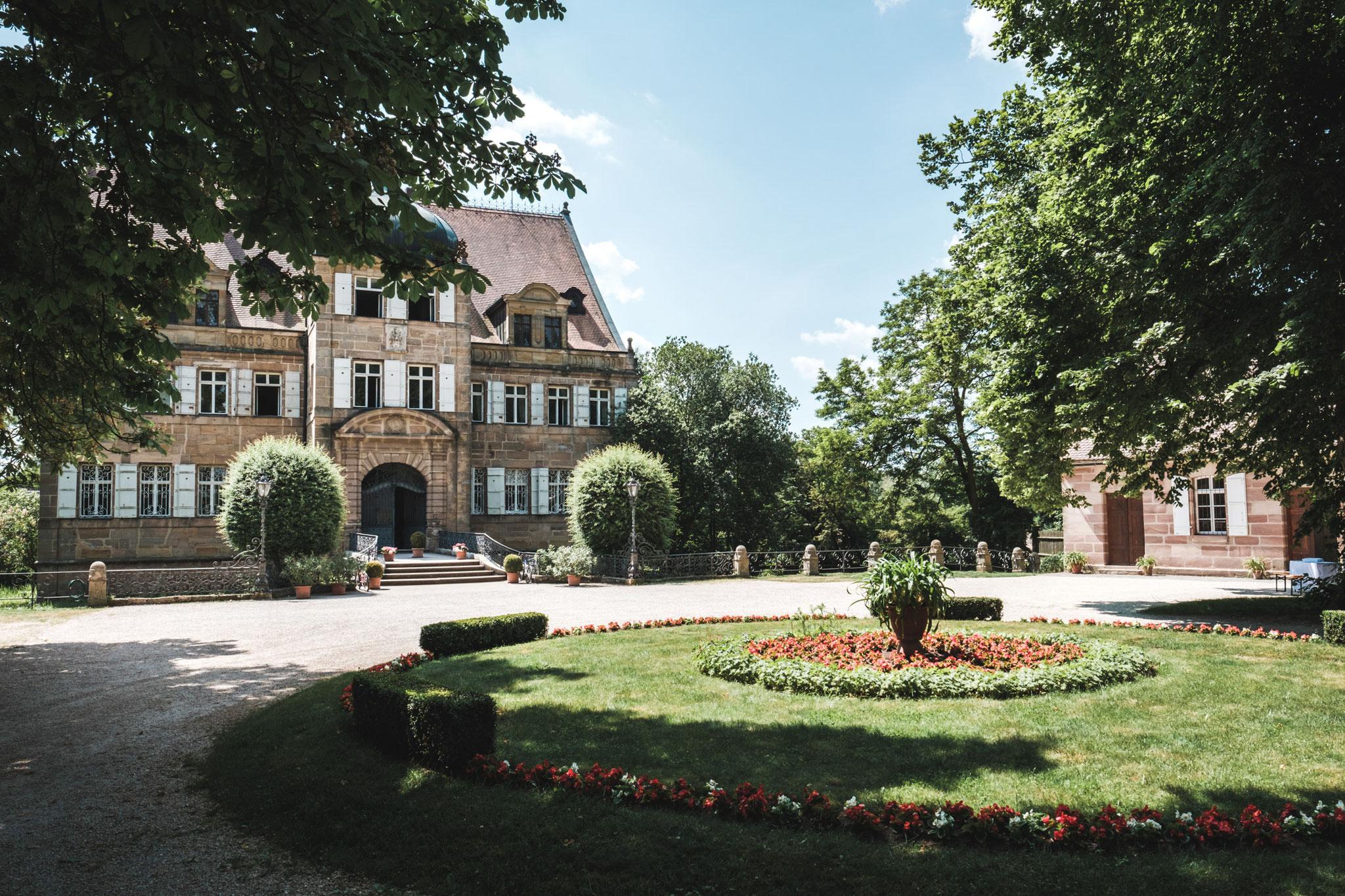 Hochzeitsfotograf auf Schloss Dürrenmungenau