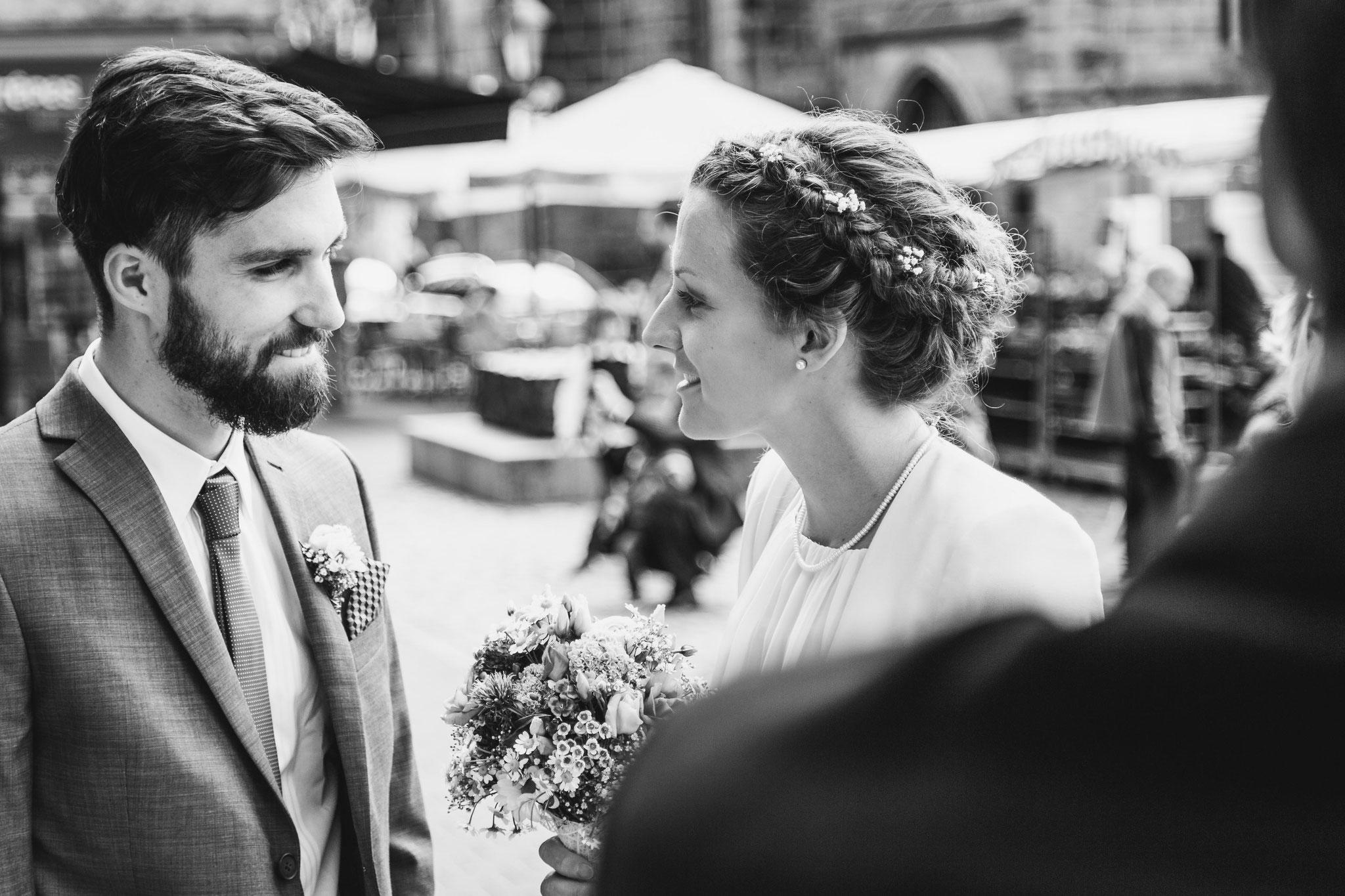Hochzeitsfotograf in Nürnberg - Standesamt Nürnberg Fotografie Riedelmeier