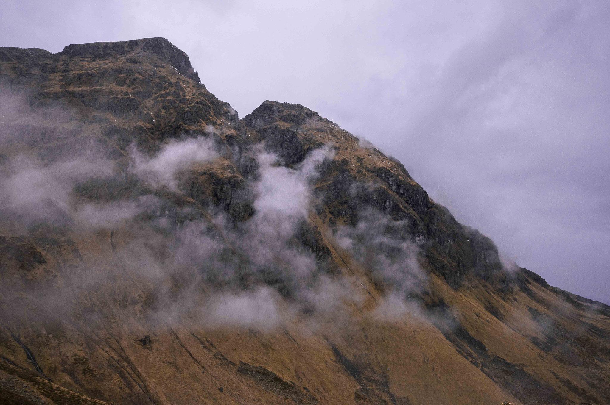 Nebelschleier; Garschurn Montafon