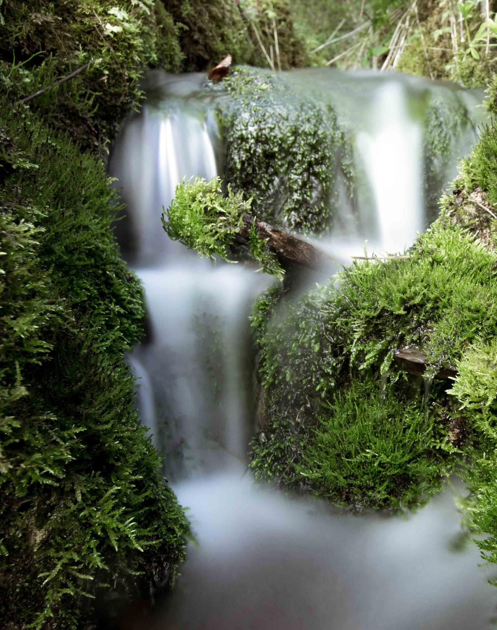 Frisches Wasser; Sirchinger Wasserfall