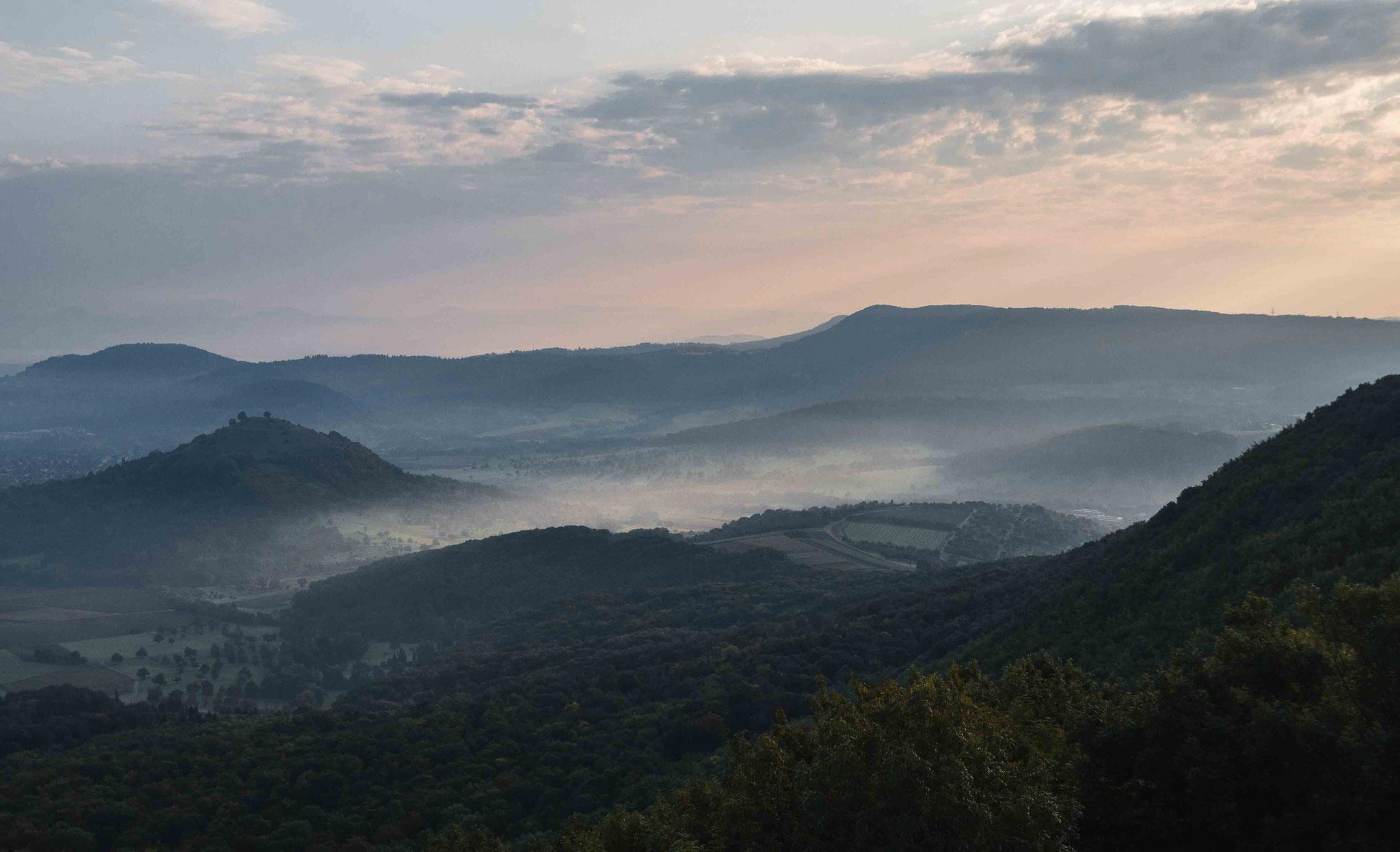 Alb Vorland zur Morgenstunde; Breitenstein