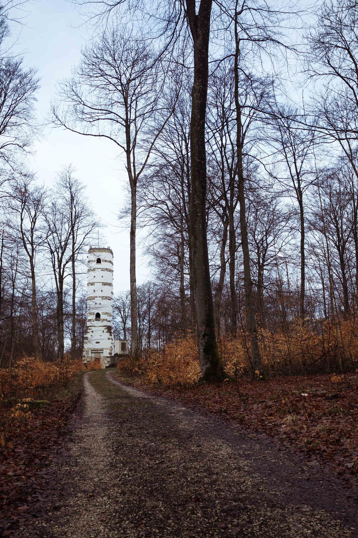 Hohe Warte im Herbst; Schwäbische Alb St. Johan