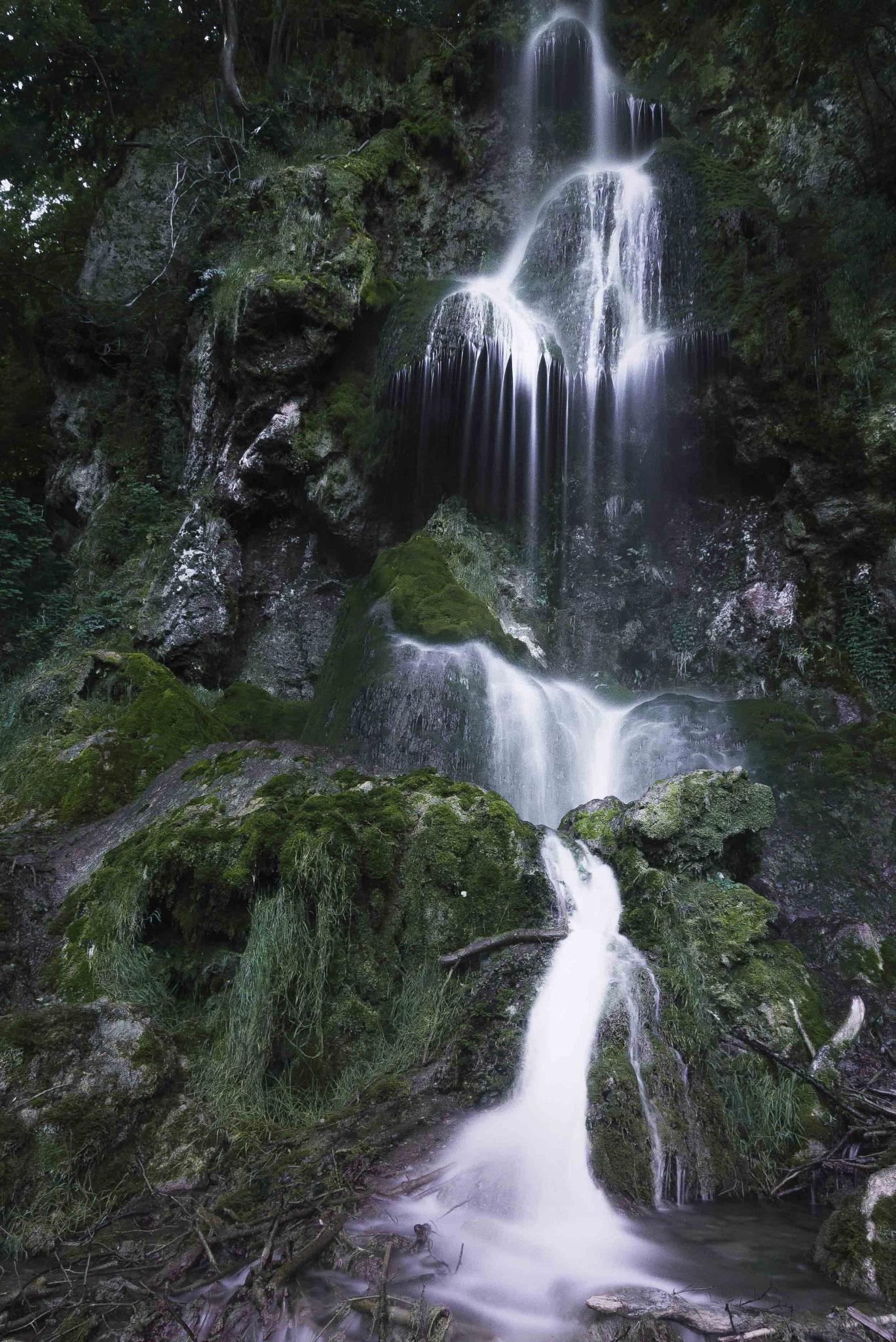Im Großen und Ganzen; Wasserfall Bad Urach