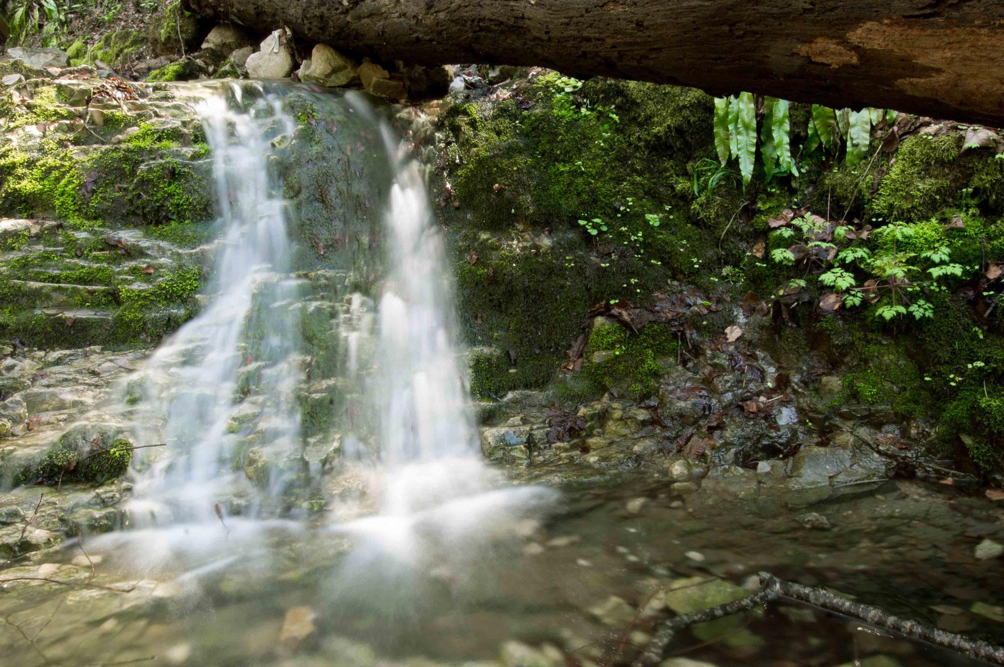 Wasserfall in der Wolfschlucht; Rulamanweg