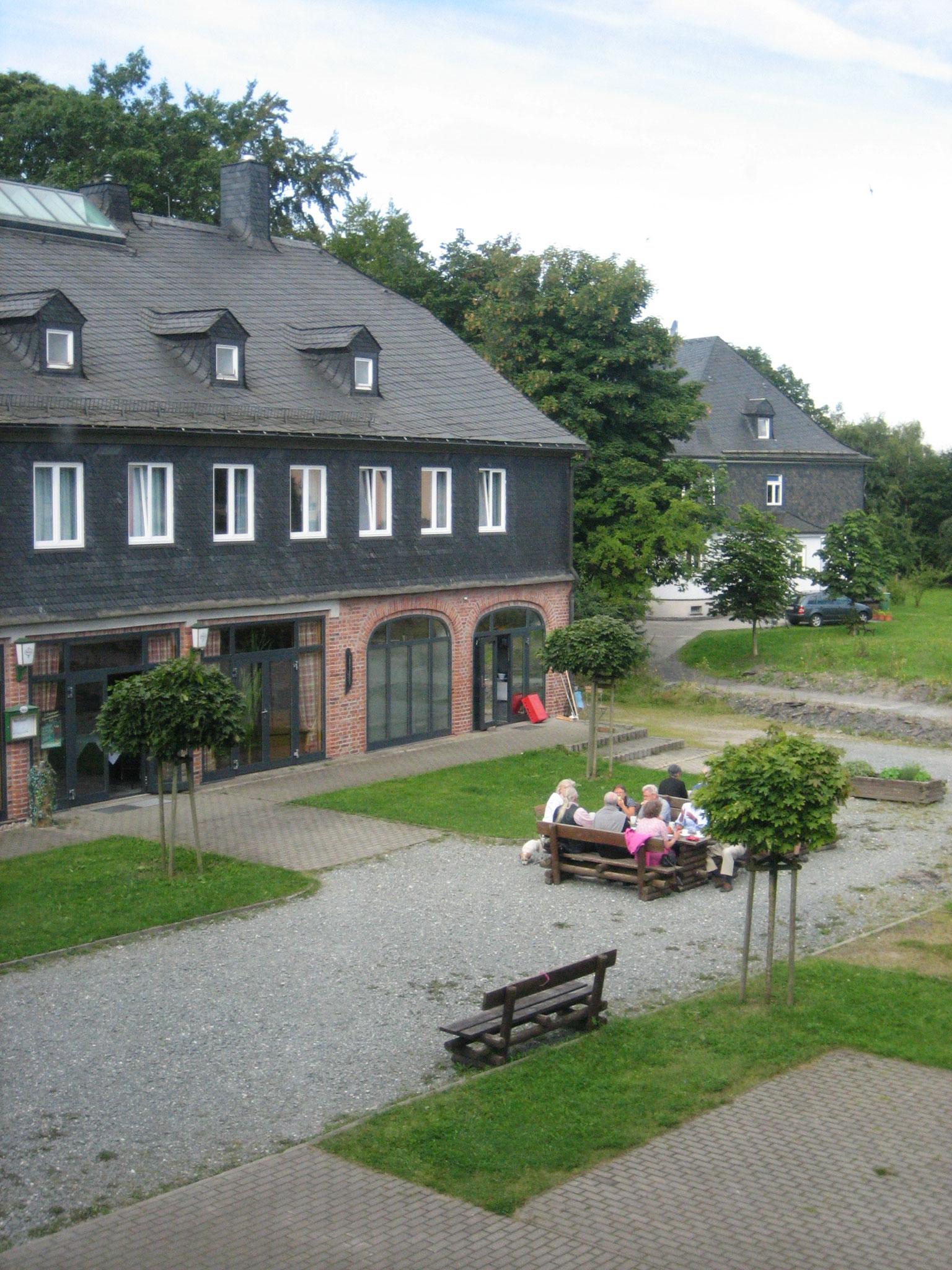 Seminar- und Tagungszentrum Lehesten, der Festivalort