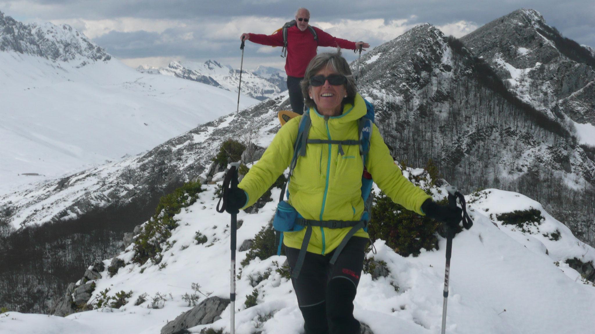 Au sommet du Pic d'Angoustise 1 625 m
