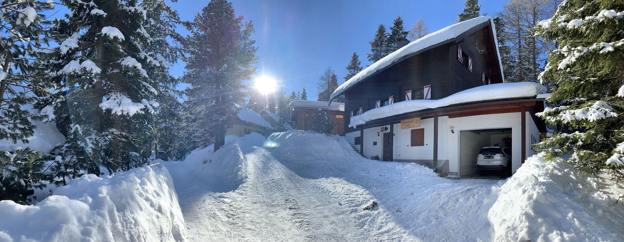 Zirbenwald Lodge - Winterimpression