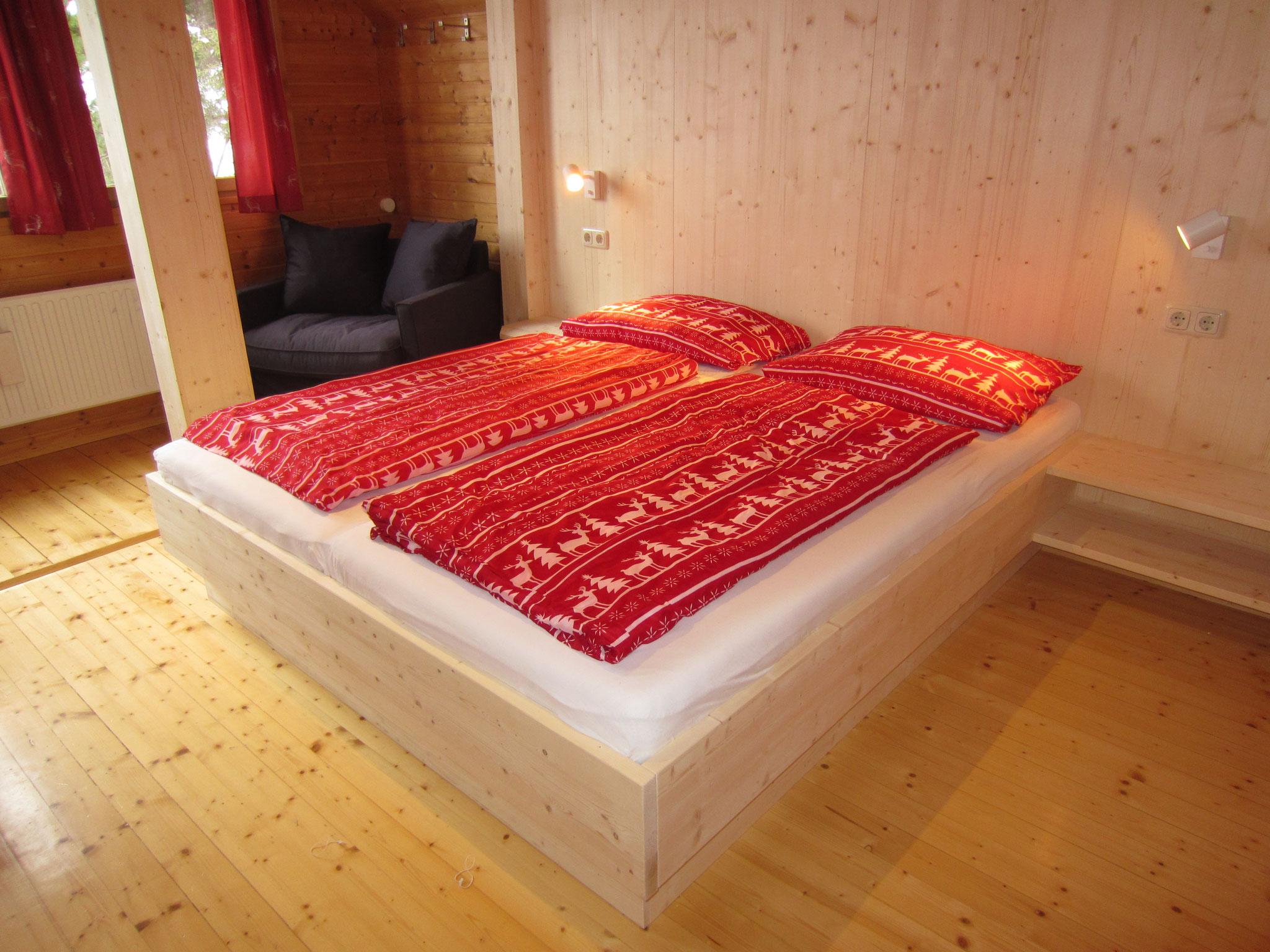 """Zirbenwald Lodge - Schlafzimmer """"Fichte"""""""