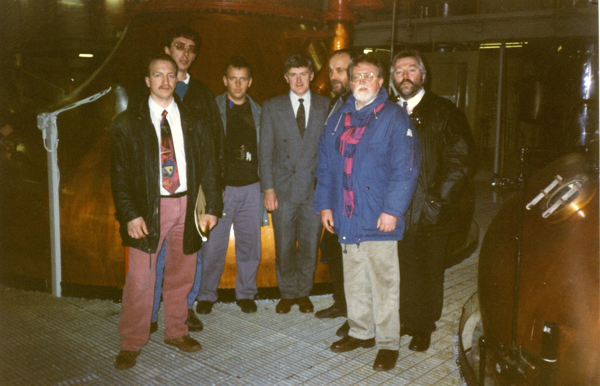 Besuch bei Barry Crockett in Midleton Destillery 1995