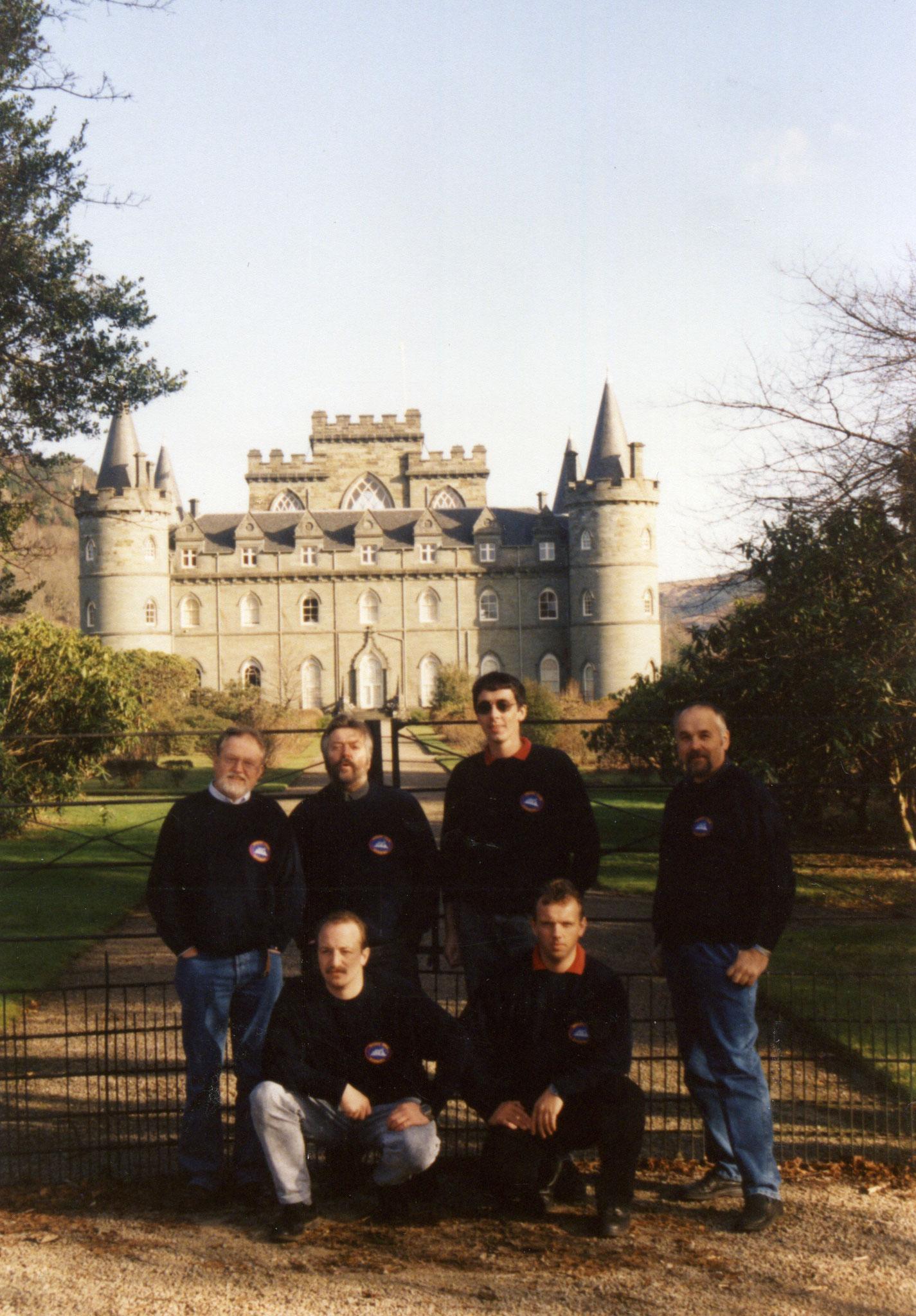 Unser Wunschclubhaus, Schottlandtour 1996