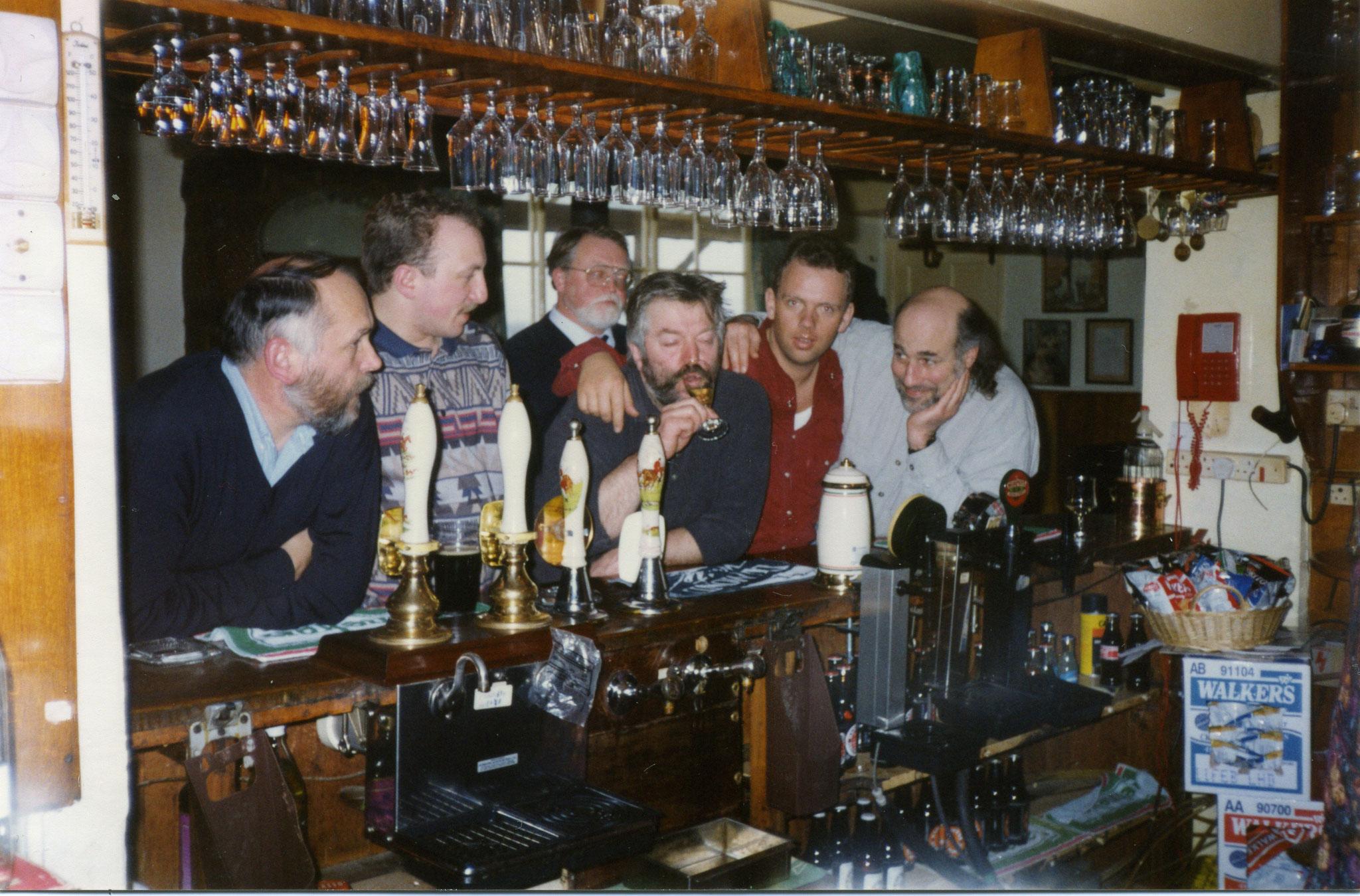 Besuch bei Robin Tucek (Blackadder) in Schottland 1996