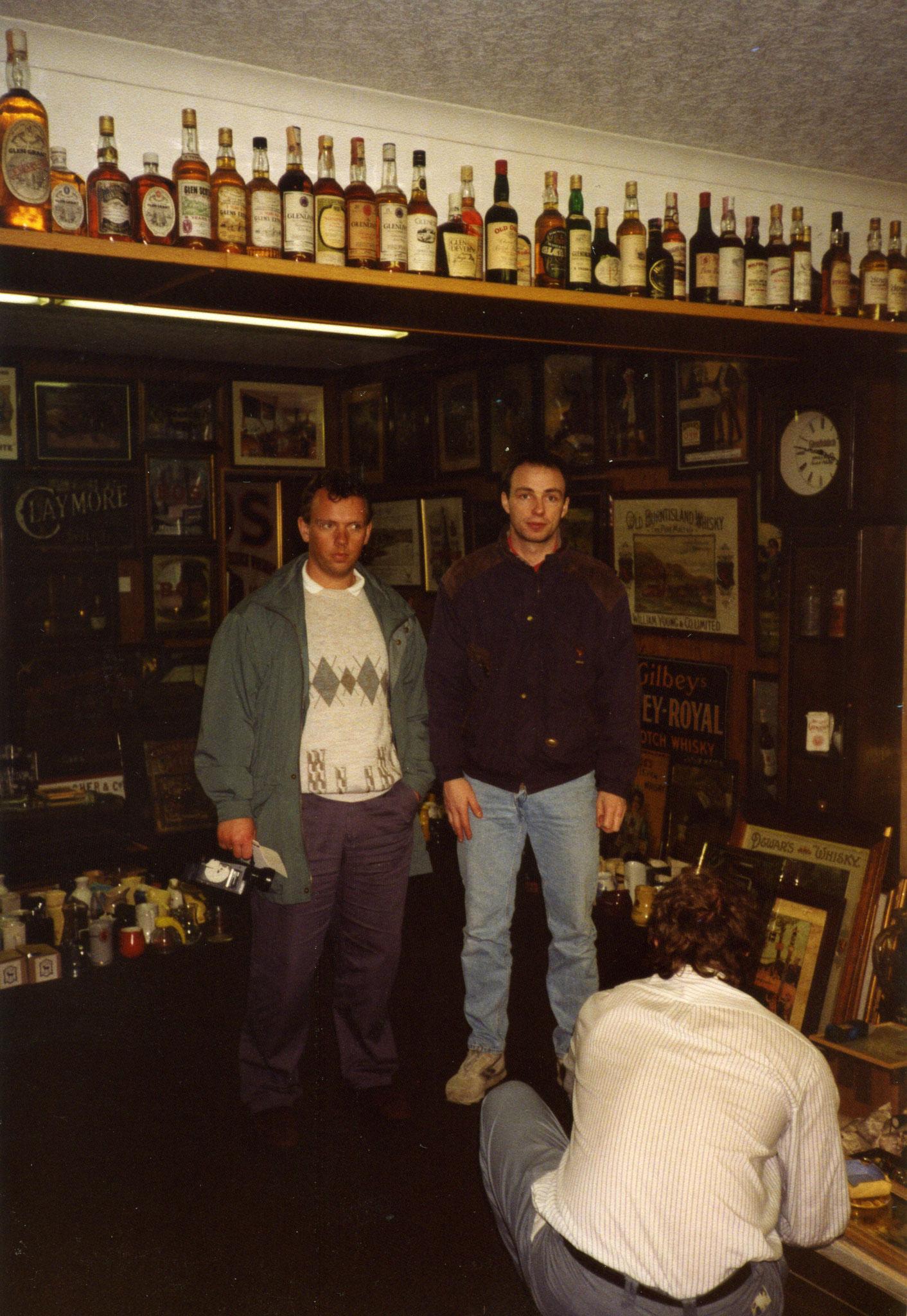 Besuch bei Derek Taylor im Royal Hotel in Thurso, Schottland