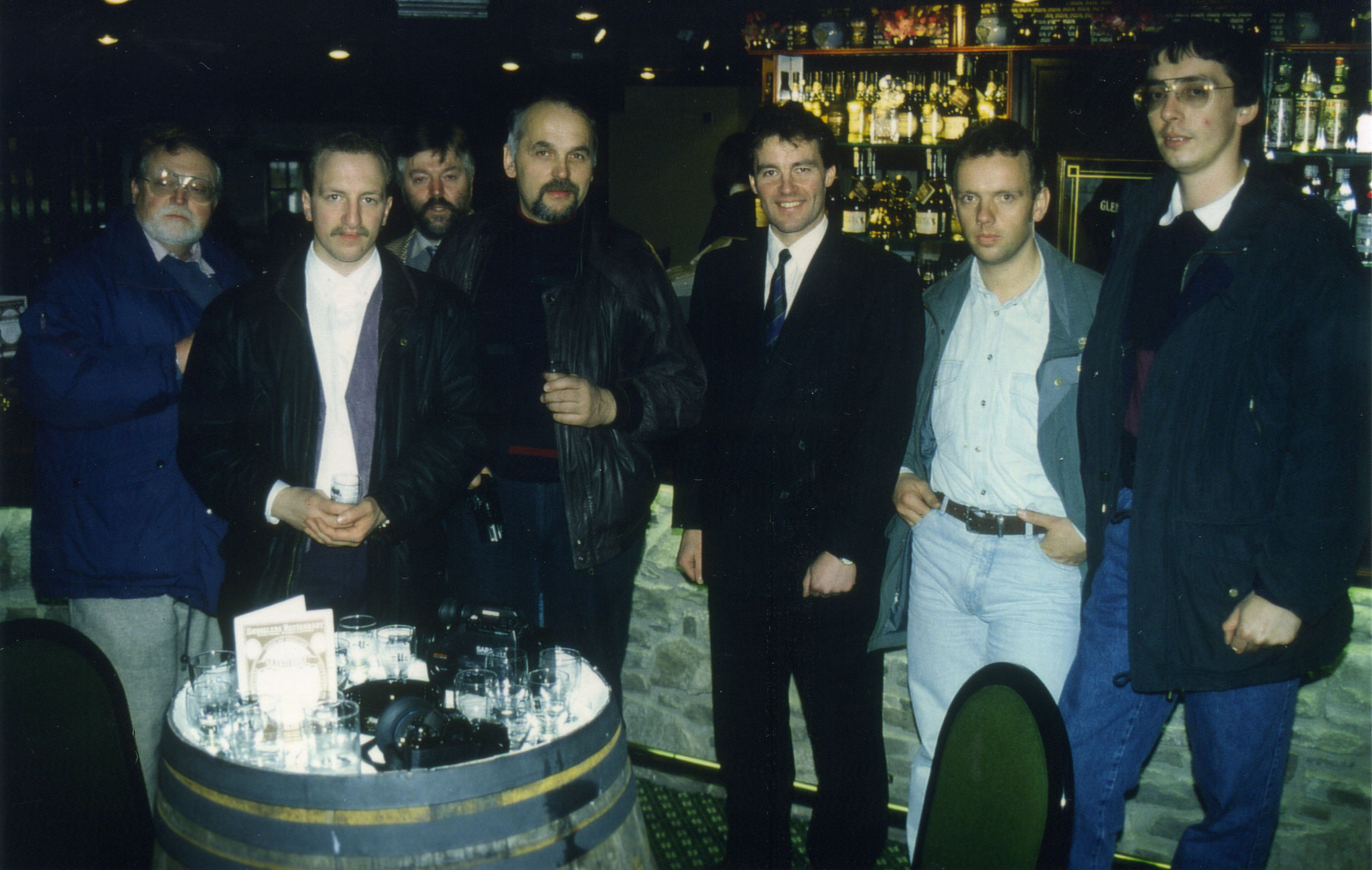 Besuch bei Peter Fairlie in der Glenturret Distillery