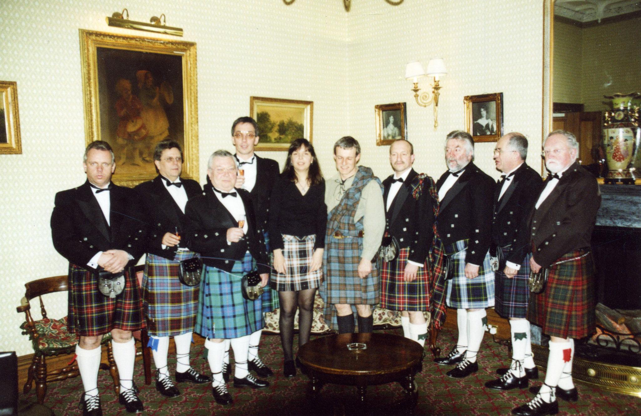 Aufnahme unseres Clubfreundes Joachim Segel 1994 in Schottland