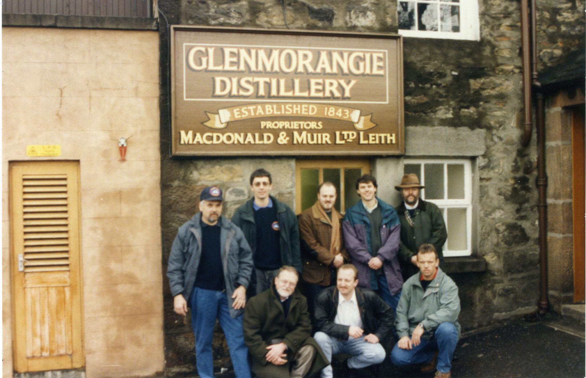 Besuch bei Andrew Taylor in der Glenmorangie Distillery