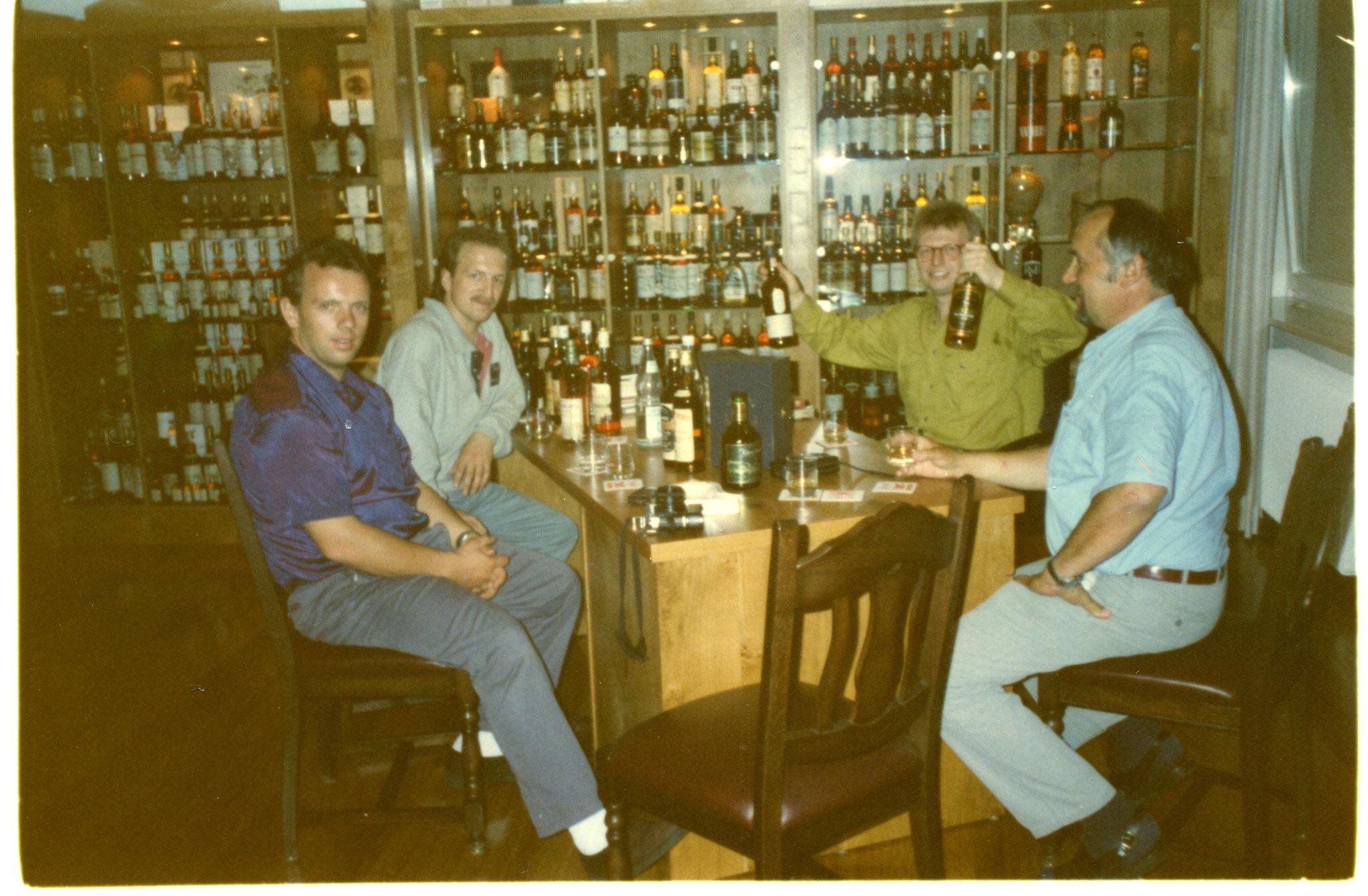 Besuch von Krügers Whiskygalerie 1996