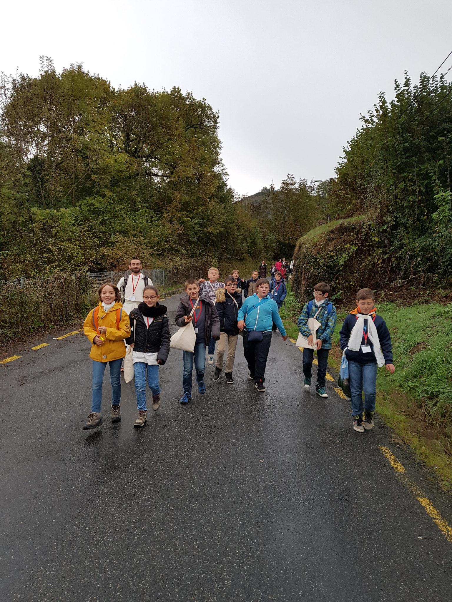 En Marche vers le sanctuaire