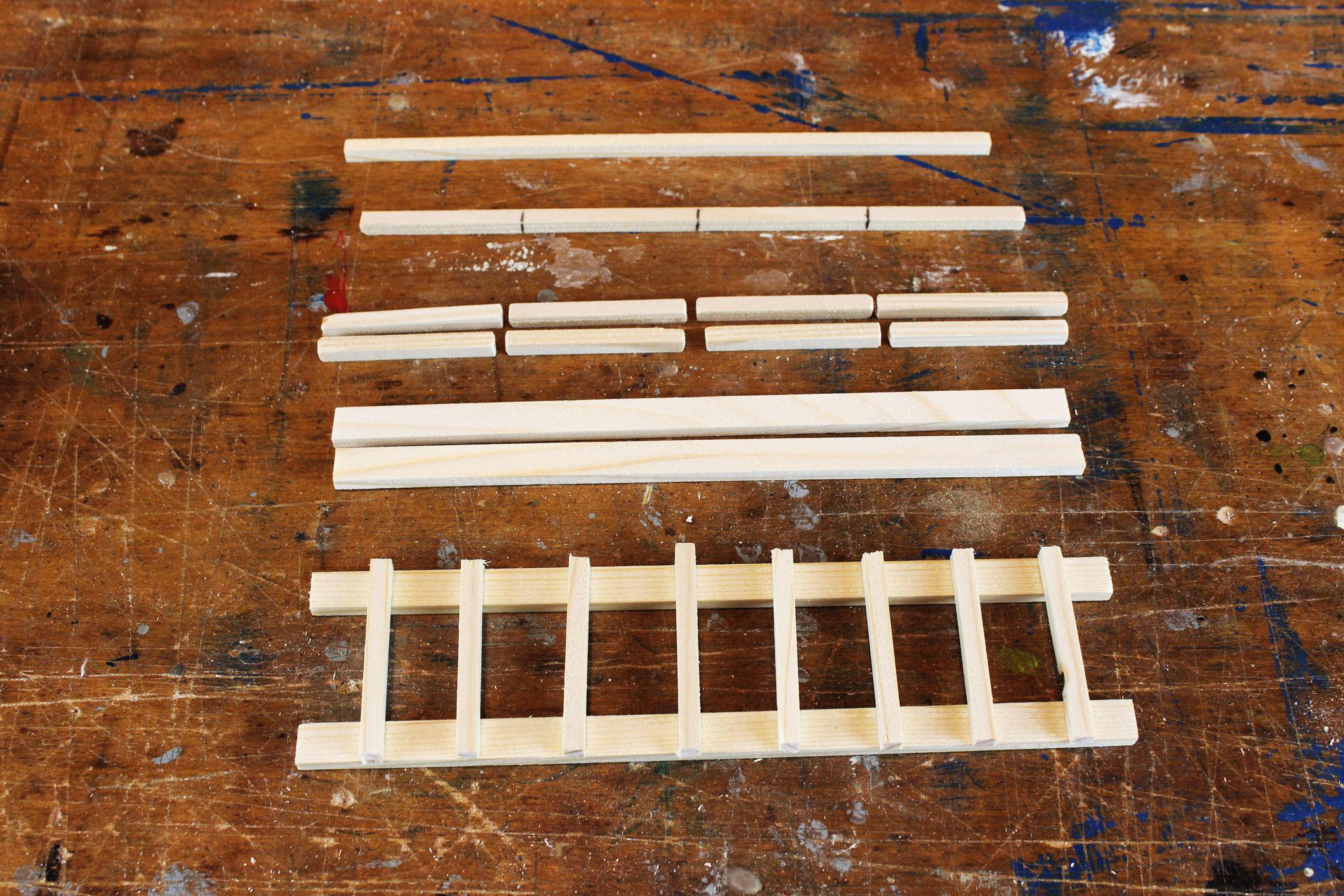 Leitern bauen